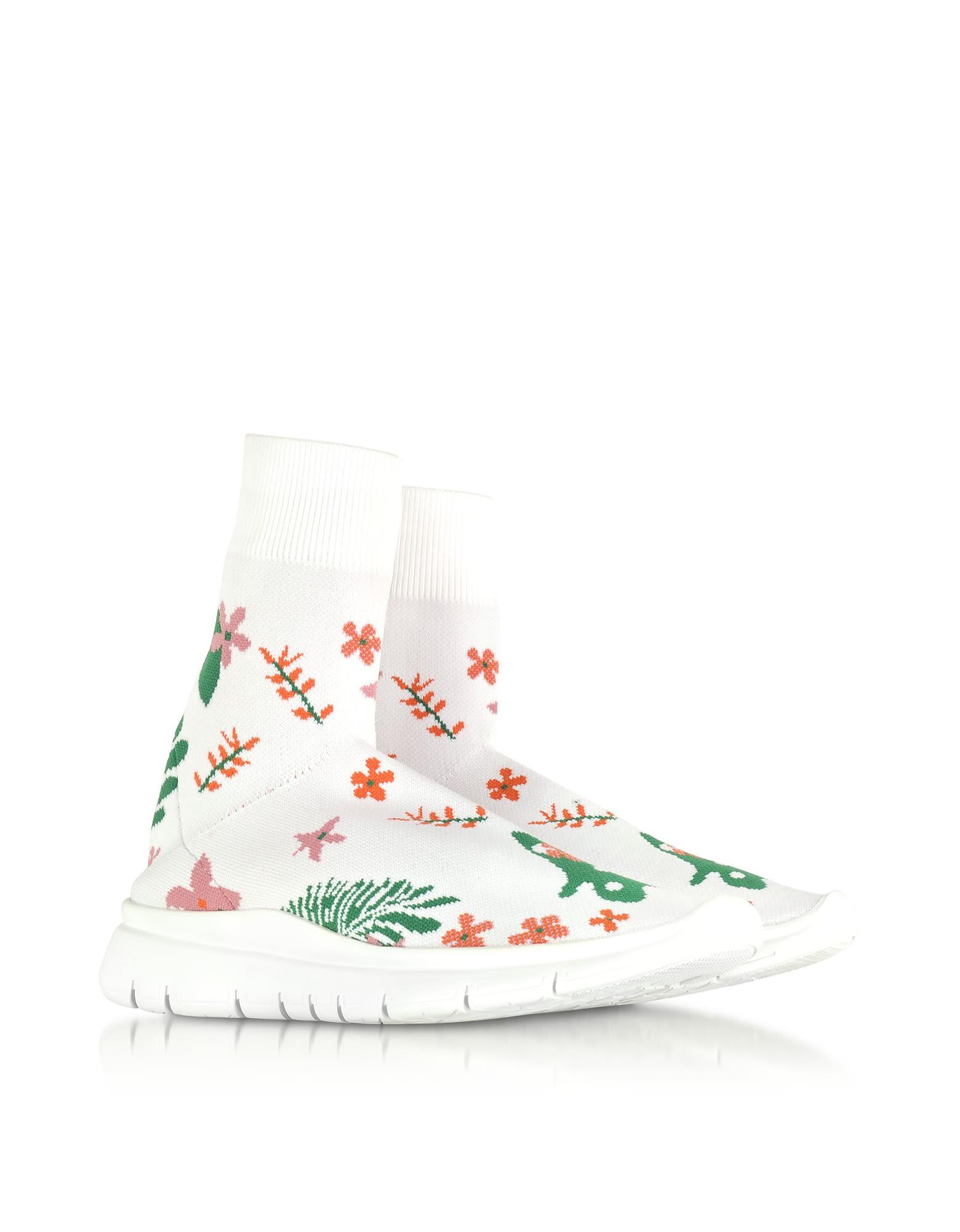 Buy Best JOSHUA SANDERS Flower Nylon Sock Sneakers Get To Buy For Sale Clearance Buy Low Price Cheap Price akFZ3mHZrc