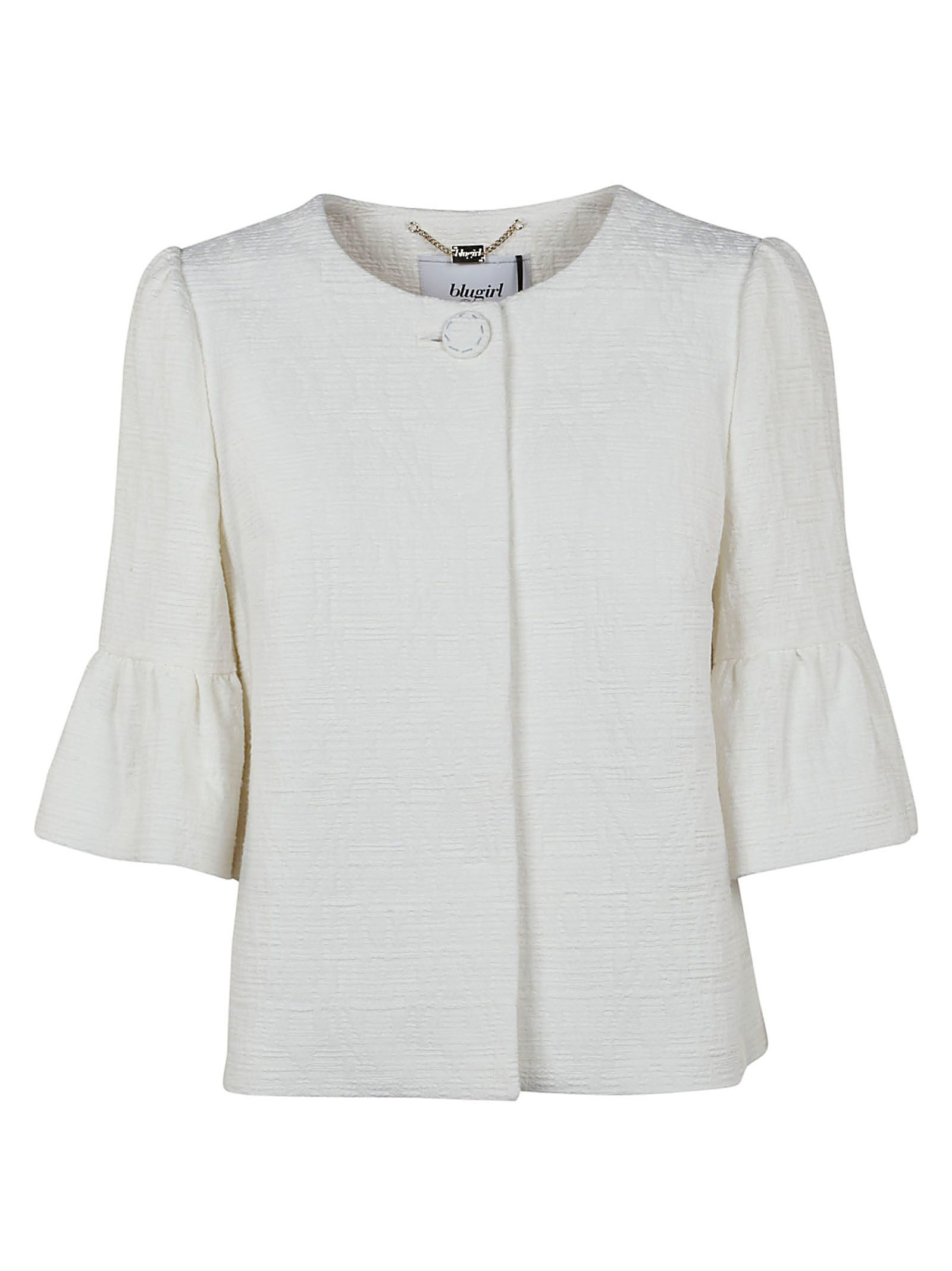 Jacquard jacket Blugirl Cheap Sale Choice 2018 Sale Online Buy Cheap Newest OfIhoAuL6