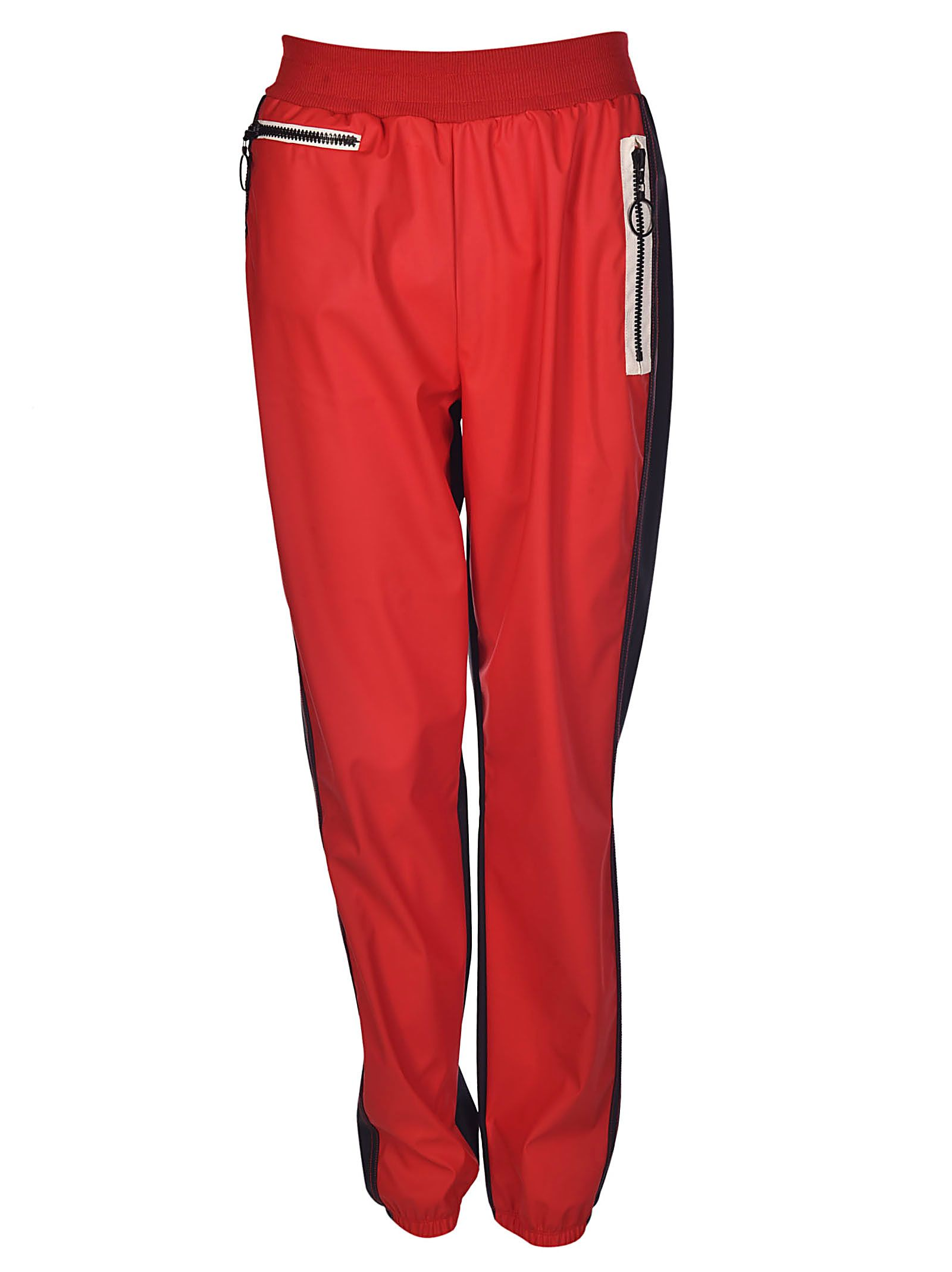 contrast trim causal trousers - Red Sonia Rykiel Official eOTkn7Hs