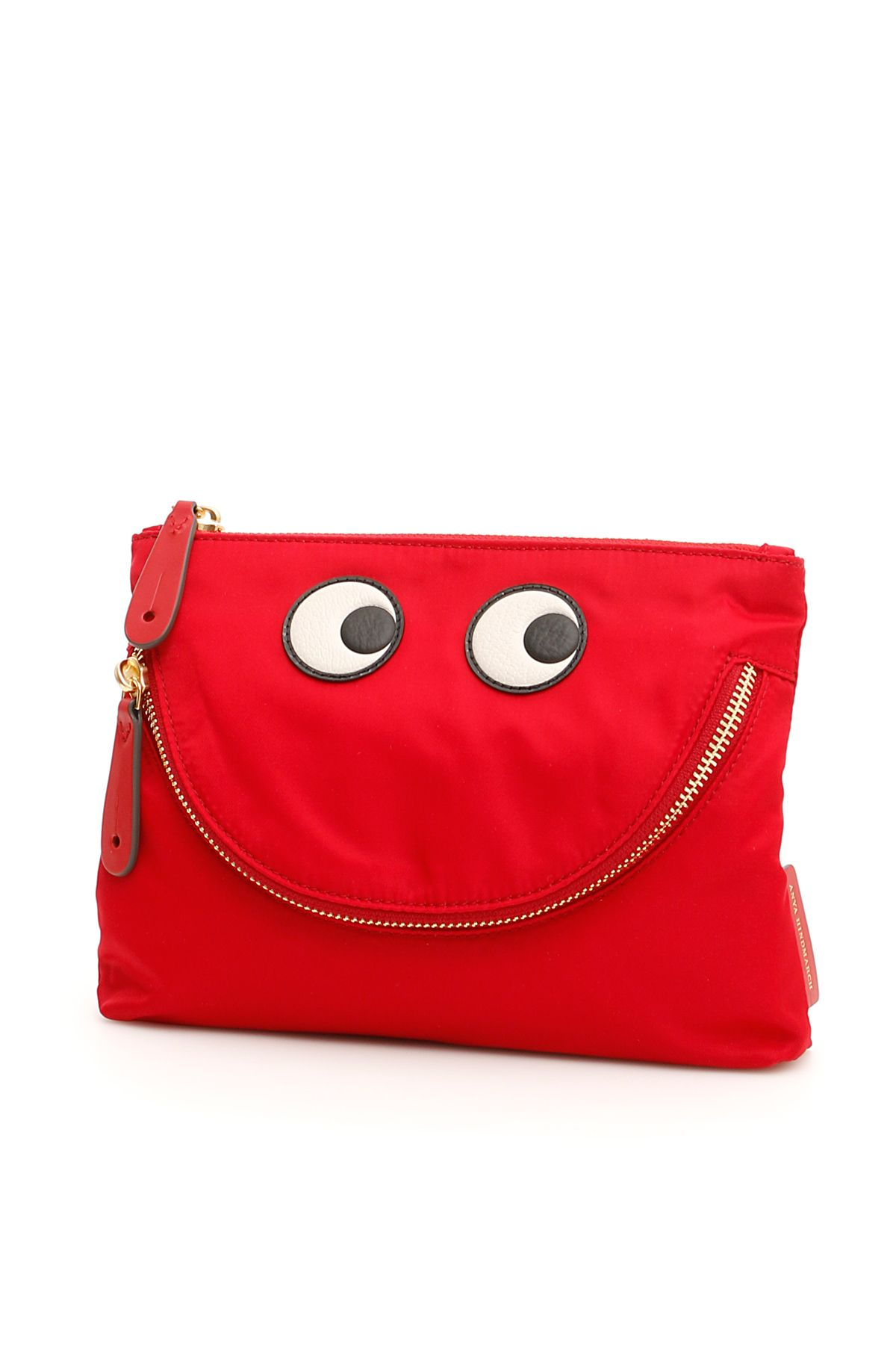 Happy Eyes Pouch in Red