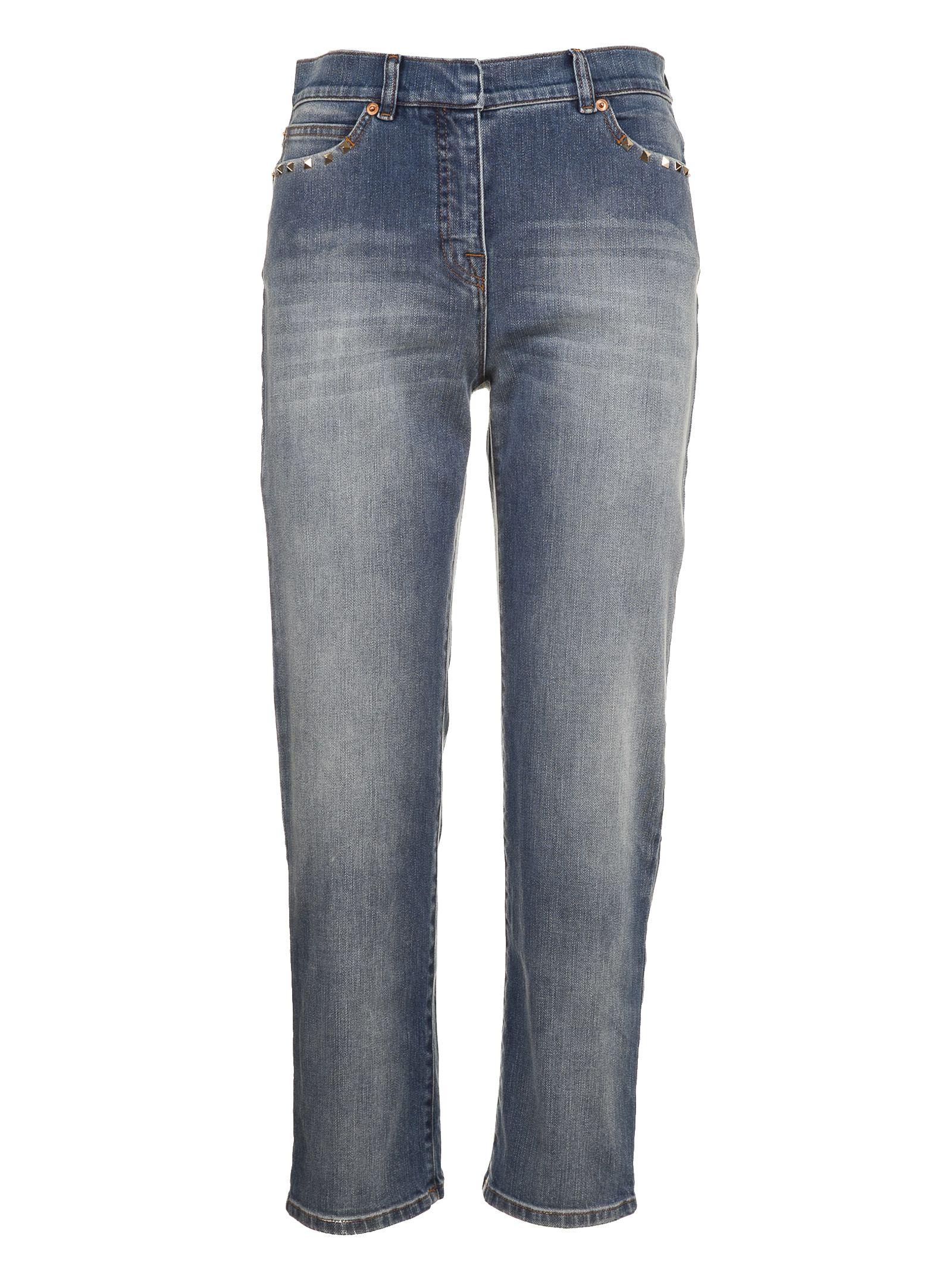 Valentino Boyfriend High-rise Jeans 10540224