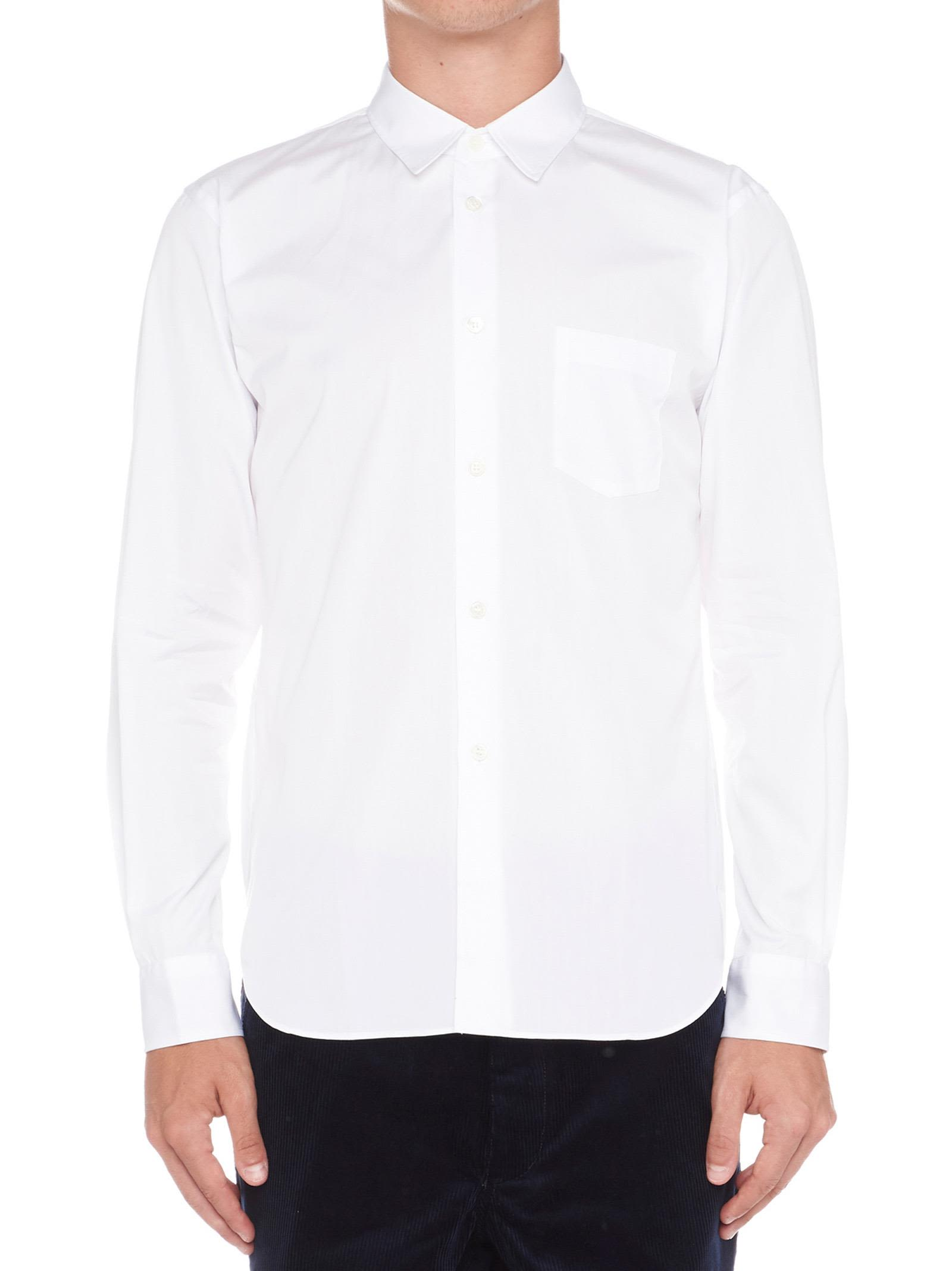 COMME DES GARÇONS BOYS Comme Des Garçons Boys 'Comme Shirt' Shirt in White