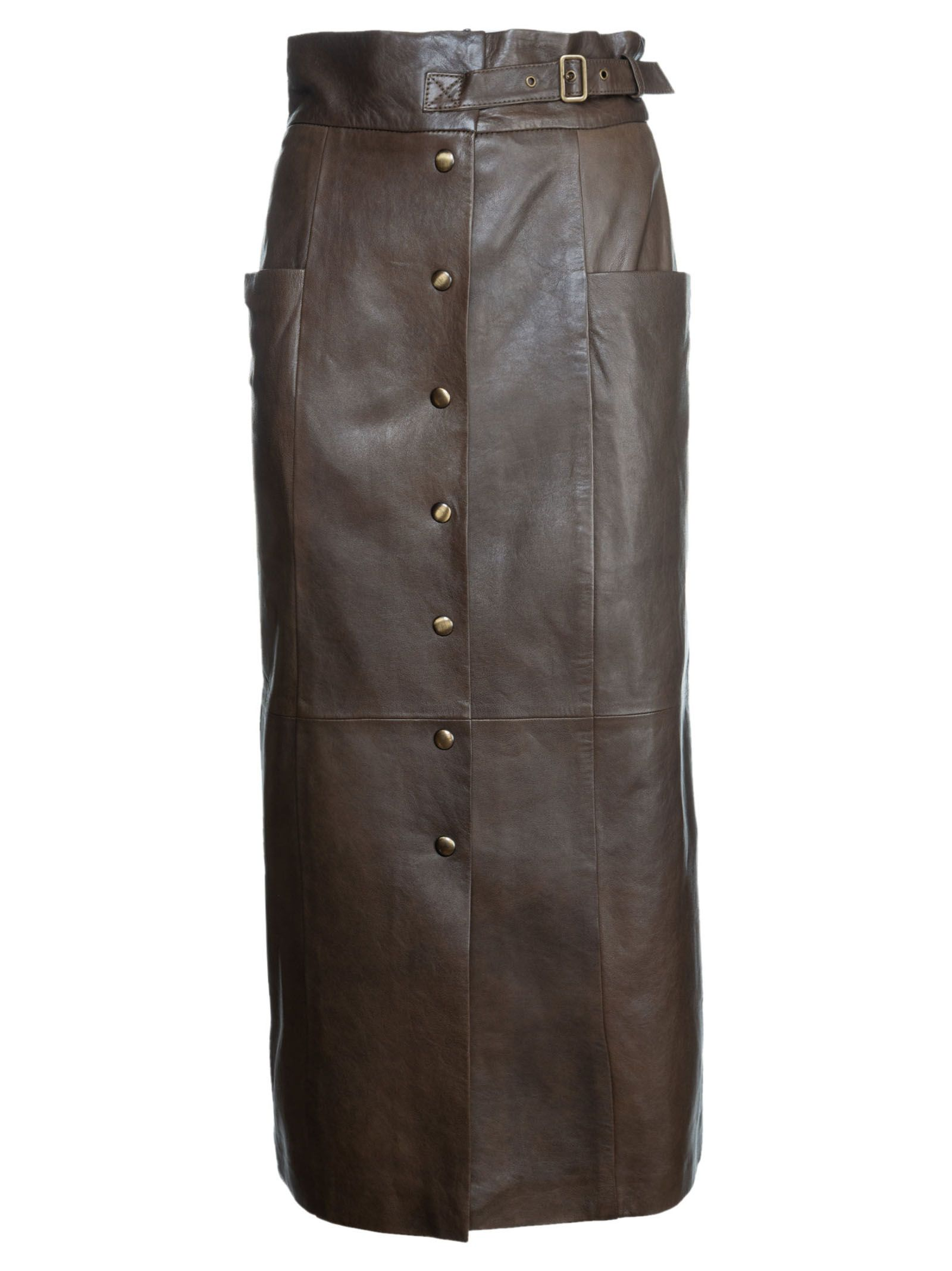 Alberta Ferretti Buttoned Skirt