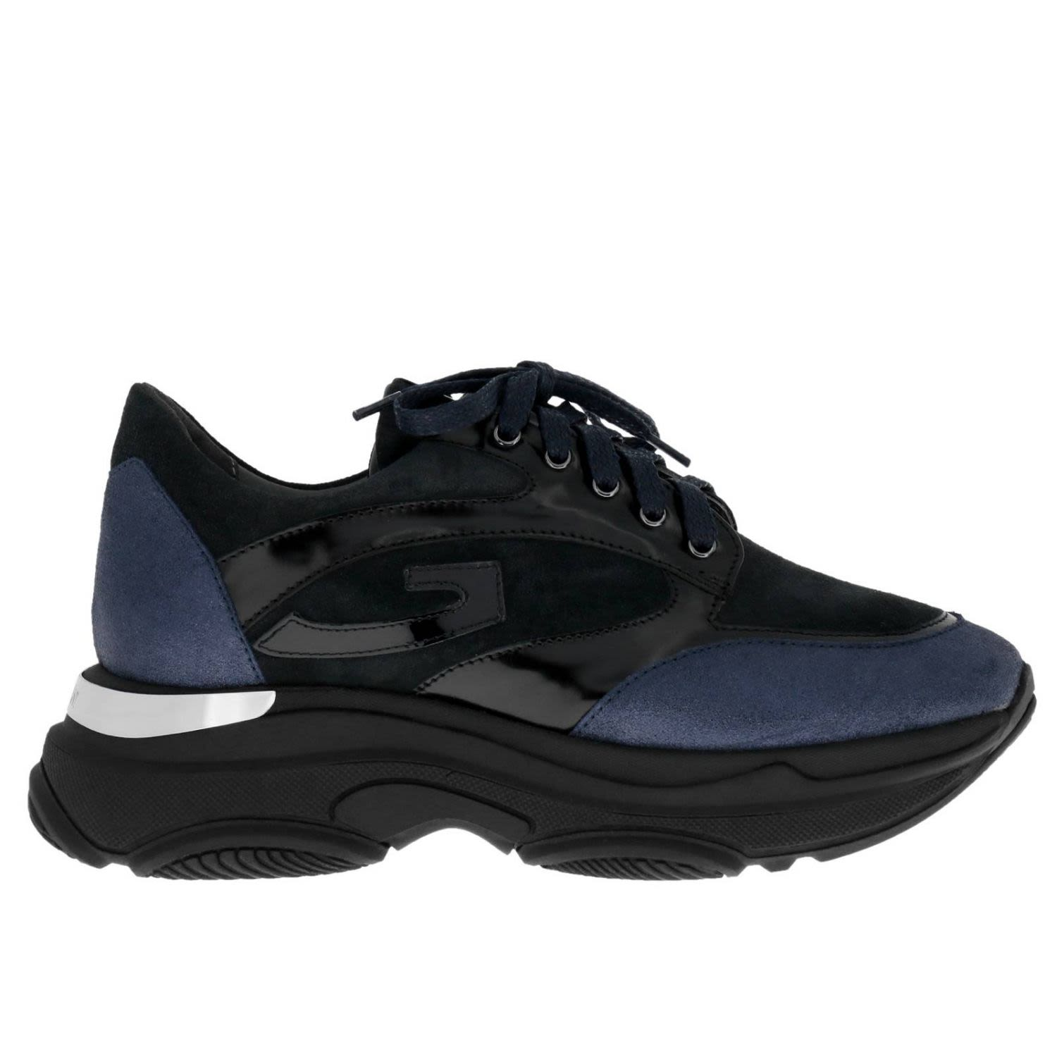 ALBERTO GUARDIANI Guardiani Sneakers Shoes Women Guardiani in Blue