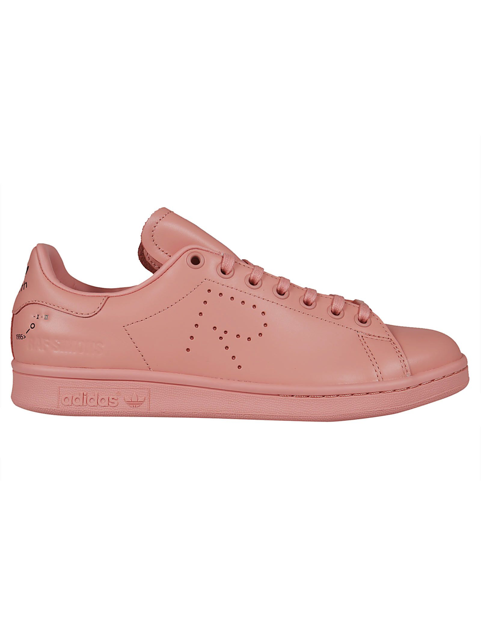 online store 84994 f4853 Raf Simons Pink Adidas Originals Edition Stan Smith Sneakers In 00031 Pink