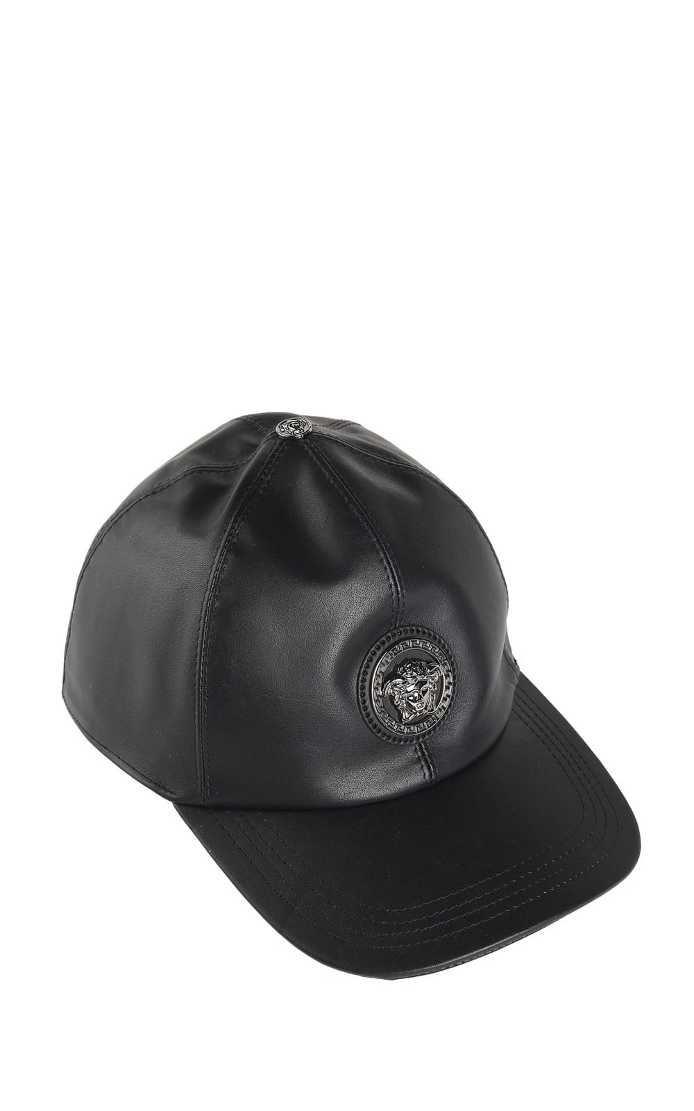 Medusa leather baseball cap Versace SSM5G3P