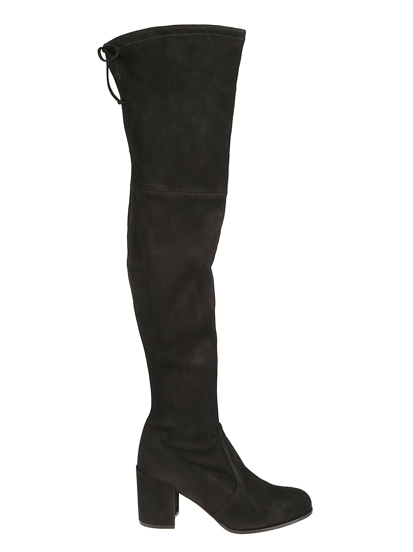 Tieland Over-The-Knee-Boots, Black