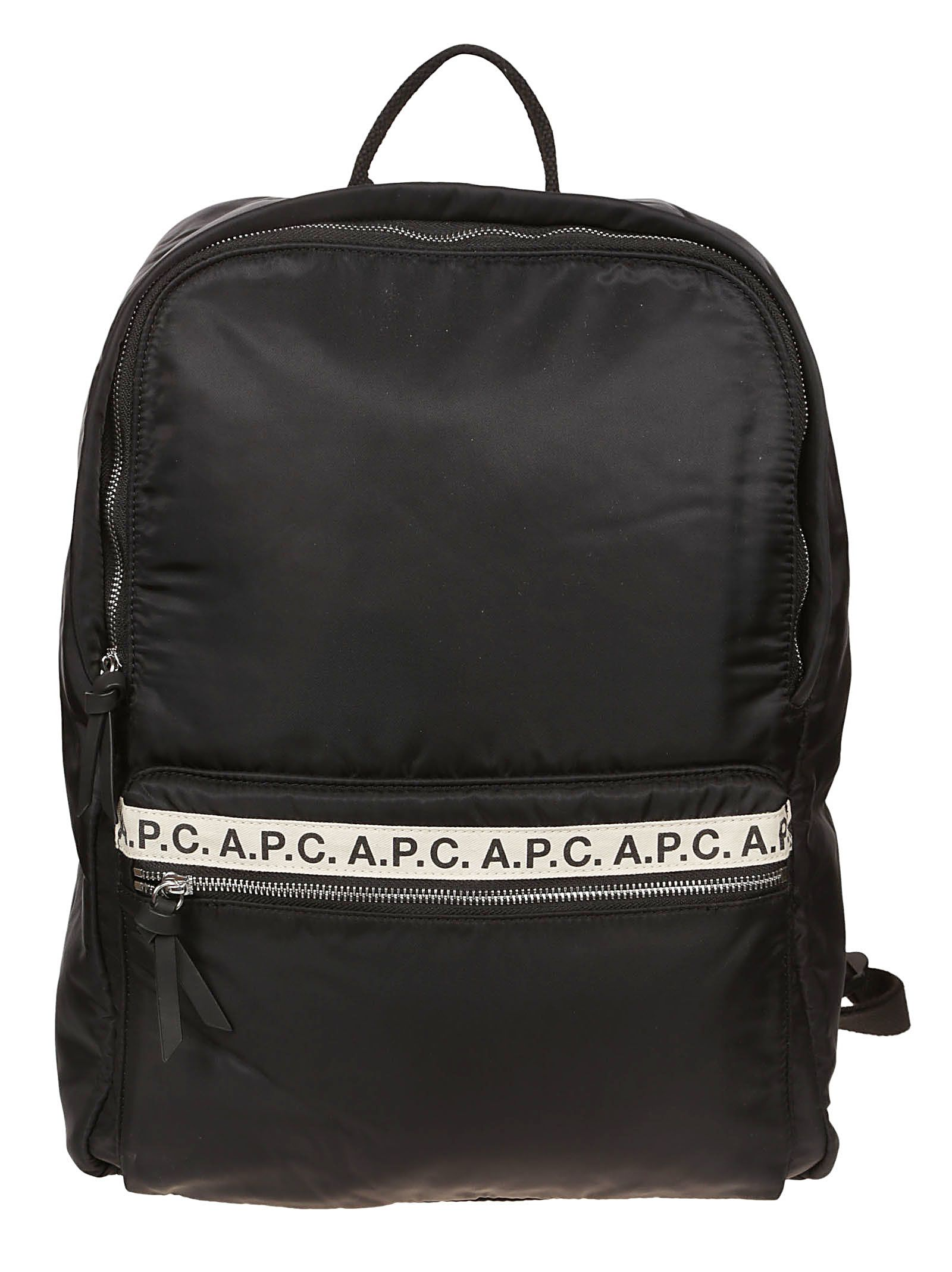 A.P.C. Sally Backpack In Noir   ModeSens c1acb2ee8d60