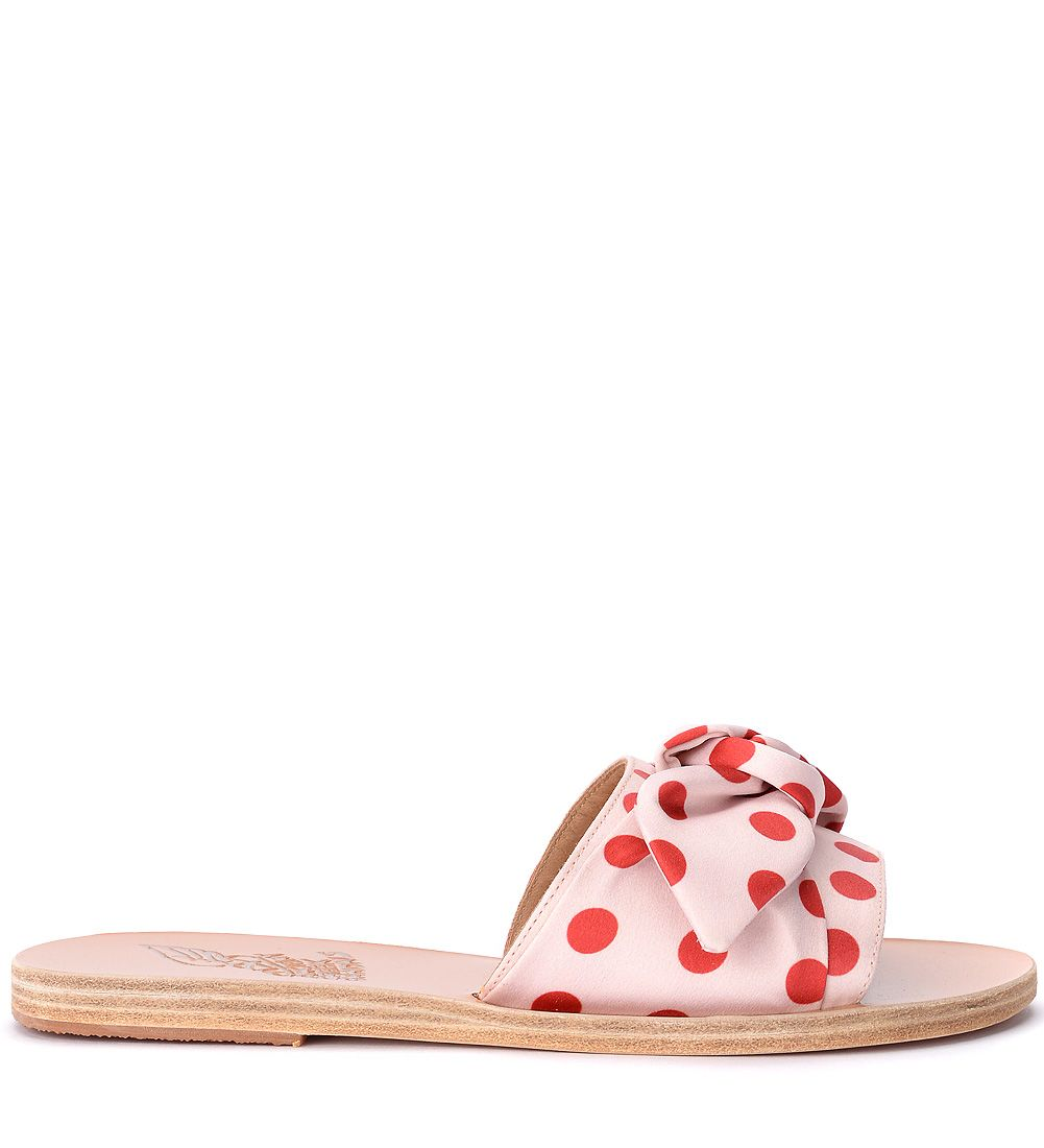 Ancient Greek Sandals Ciabattina Taygete In Tessuto Rosa E Rosso Buy Cheap Very Cheap Buy Cheap View New Arrival Sale Online Cheap Sale Outlet DLI6Uf3p