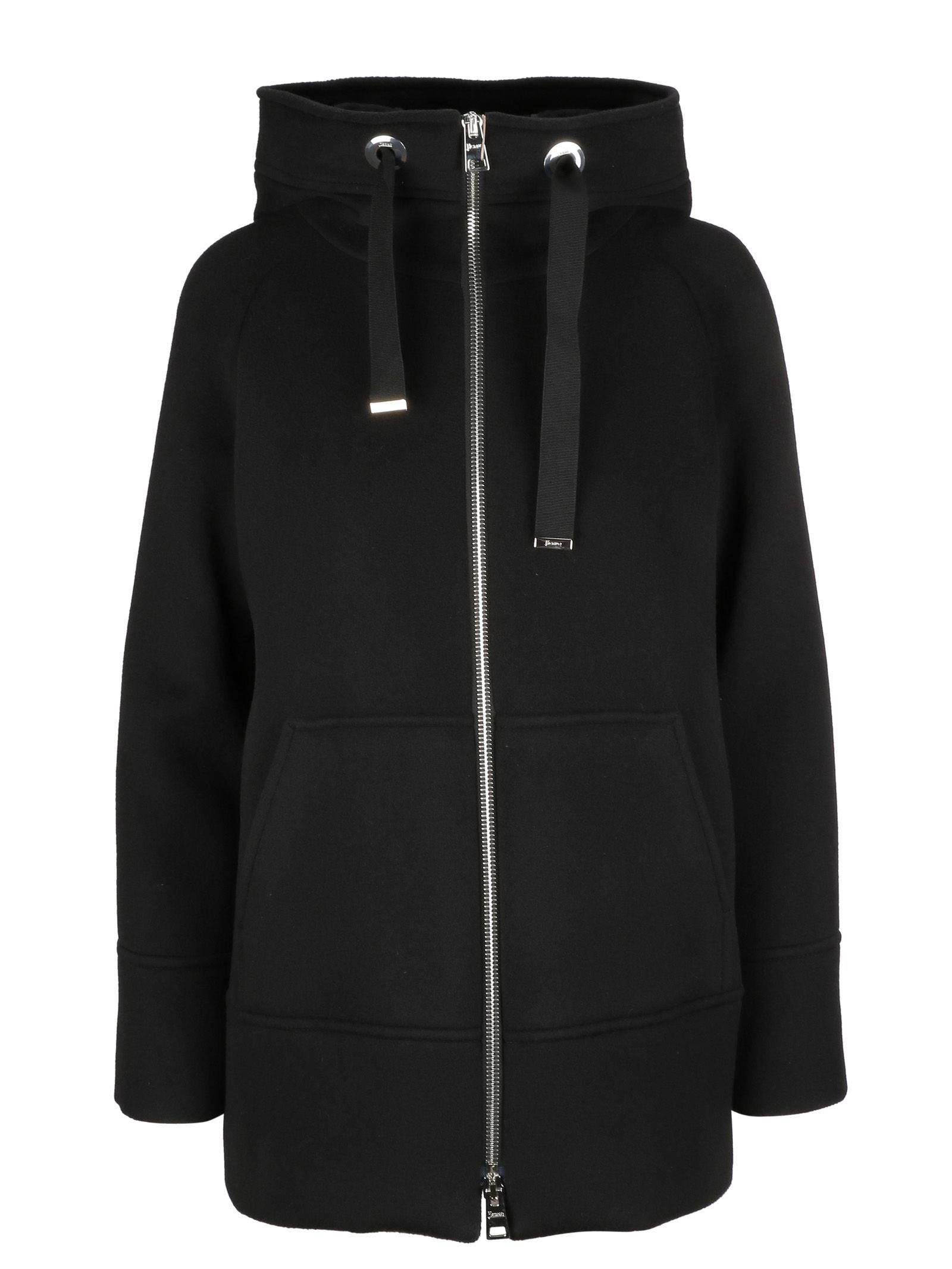 HOODED ZIPPED JACKET