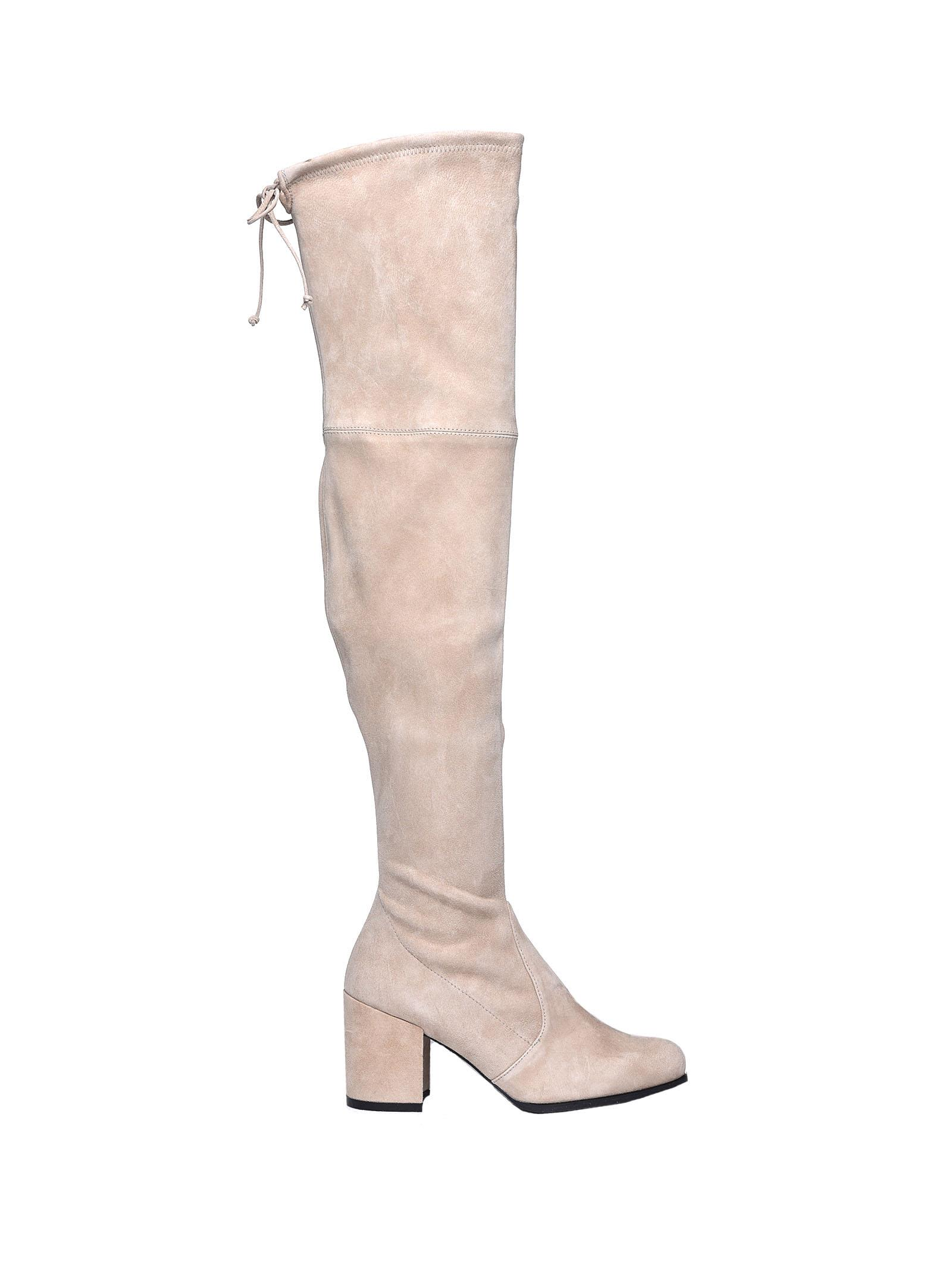 The Tieland Beige Boots