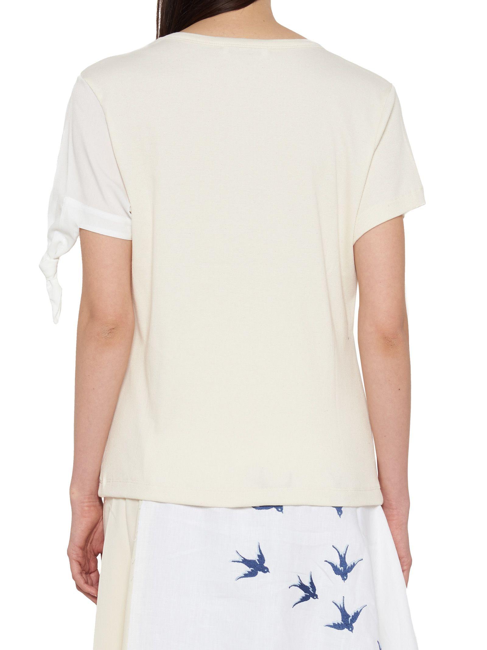 bow sleeve t-shirt J.W.Anderson RmvEU0f