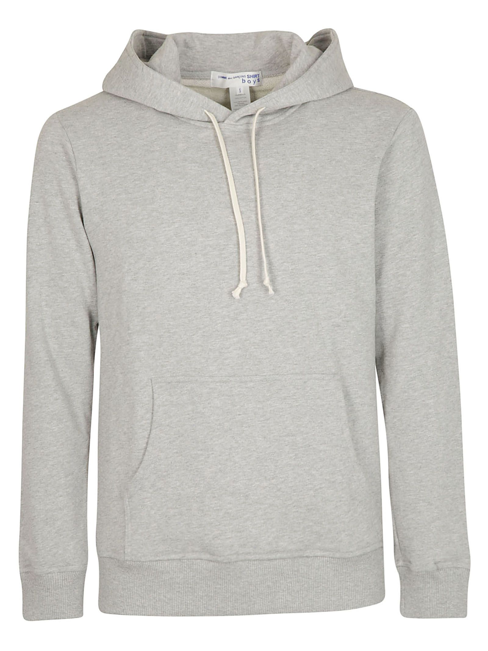 COMME DES GARÇONS BOYS Comme Des Garçons Boys Hooded Sweatshirt in Grigio