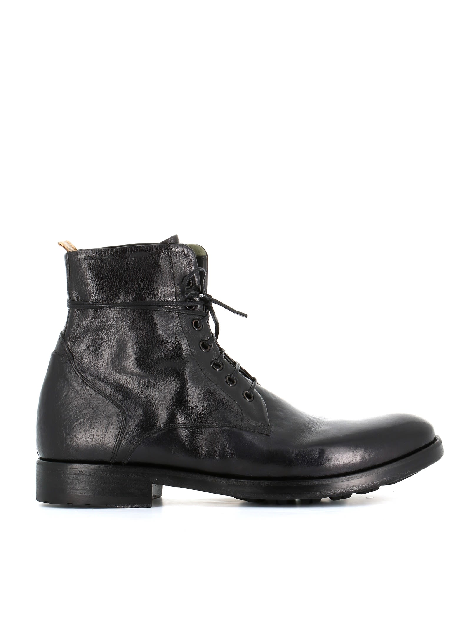 """ALEXANDER HOTTO Lace-Up Boot """"54064"""" in Black"""
