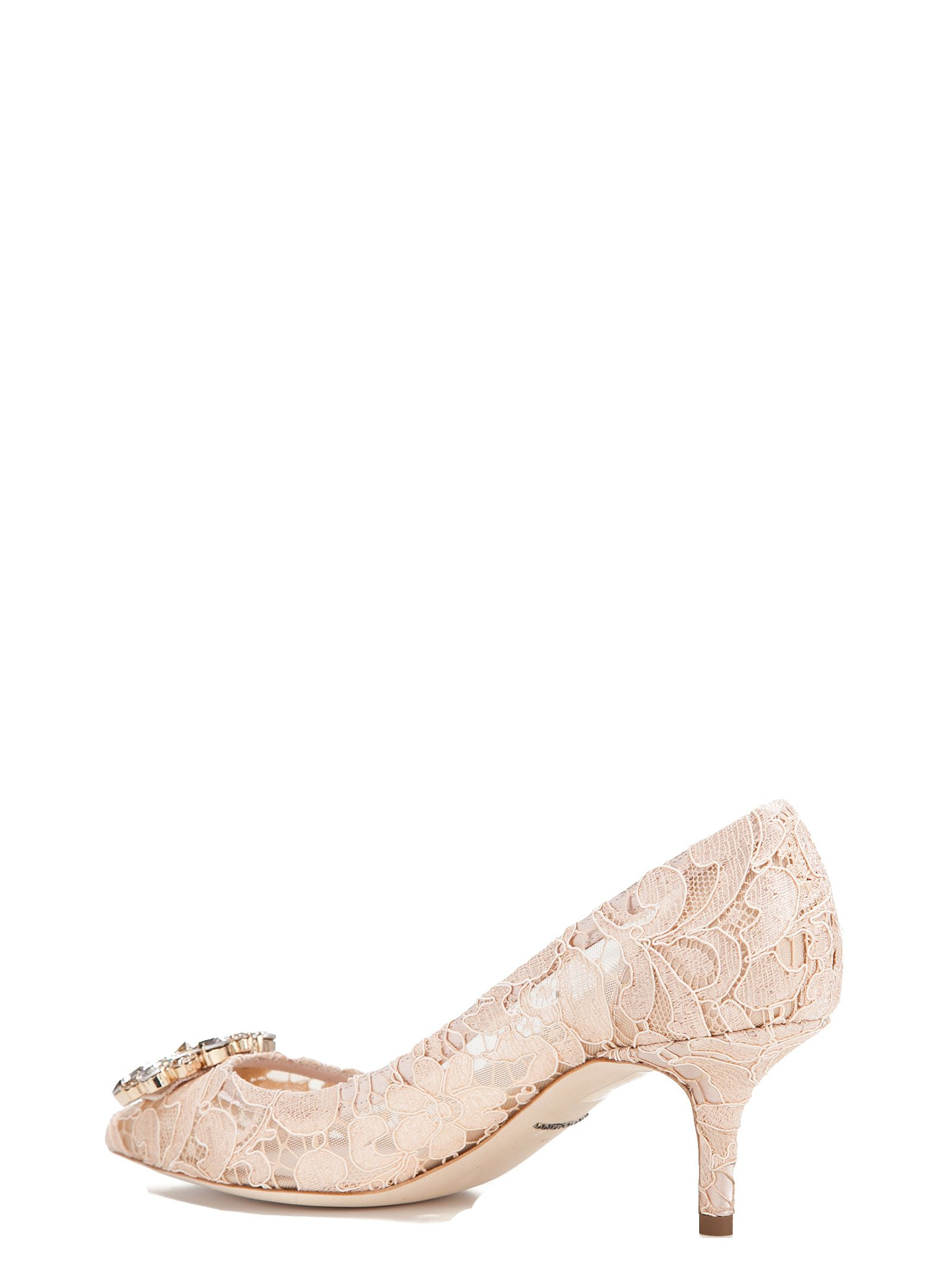 embroidered pumps - Nude & Neutrals Dolce & Gabbana