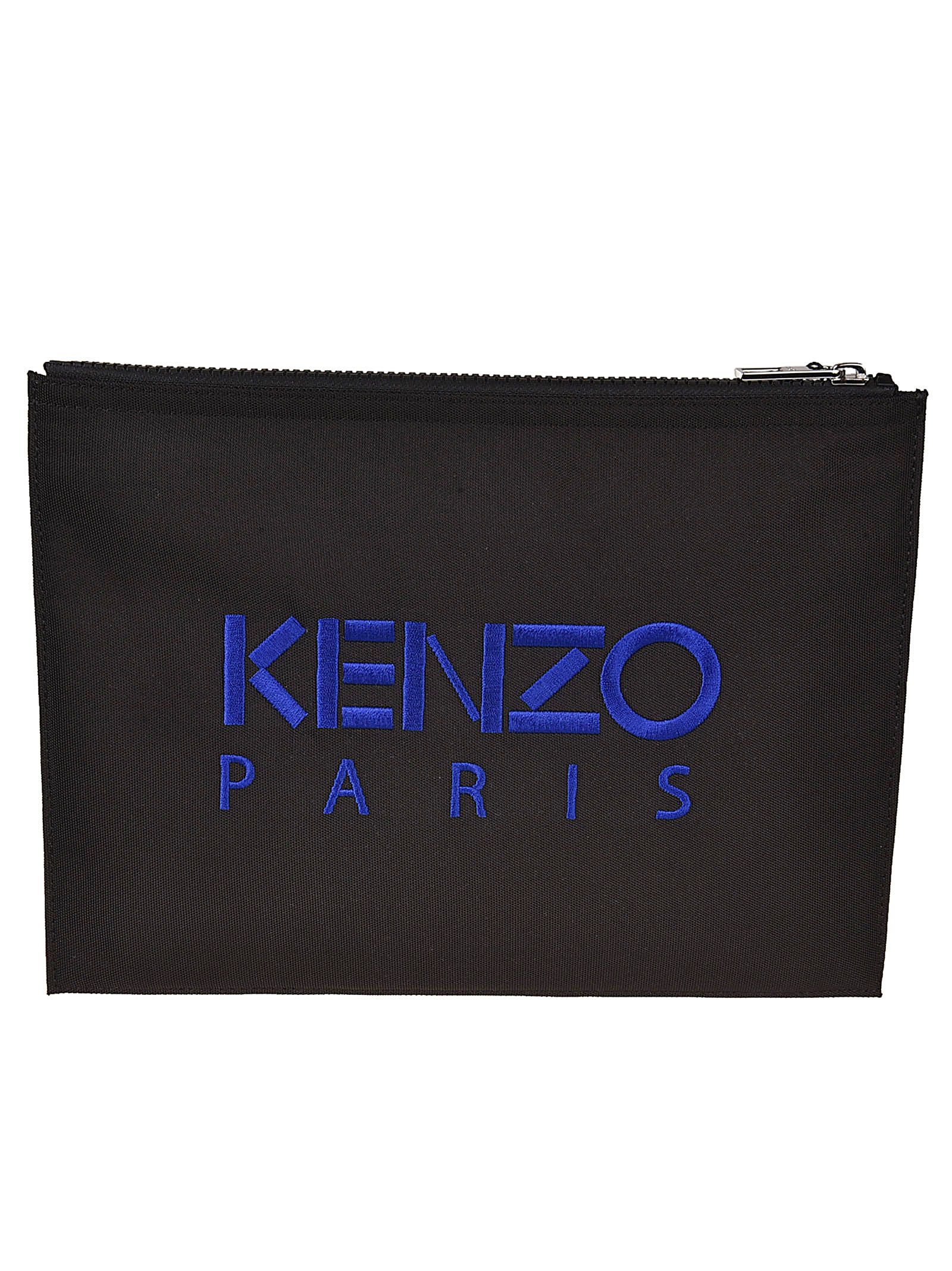 LOGO PRINT ZIP AROUND WALLET