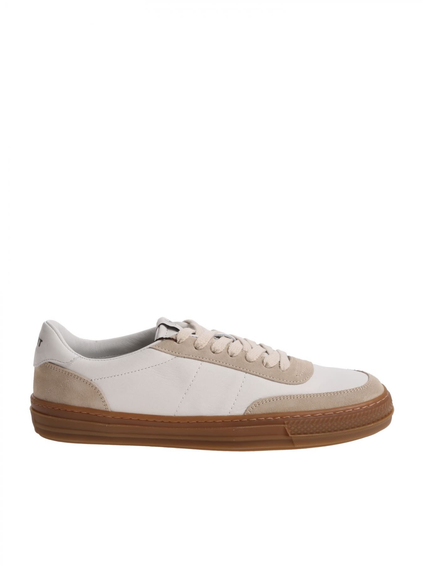 ROV Leather Sneaker in White