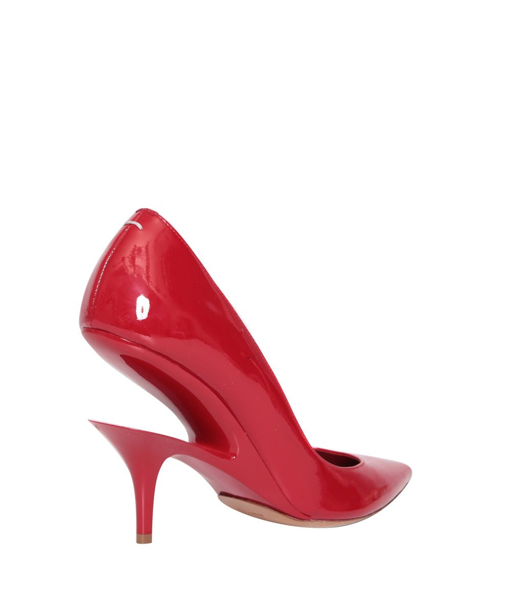 Maison Margiela Red Patent Leather Pumps nW959ZTR3o