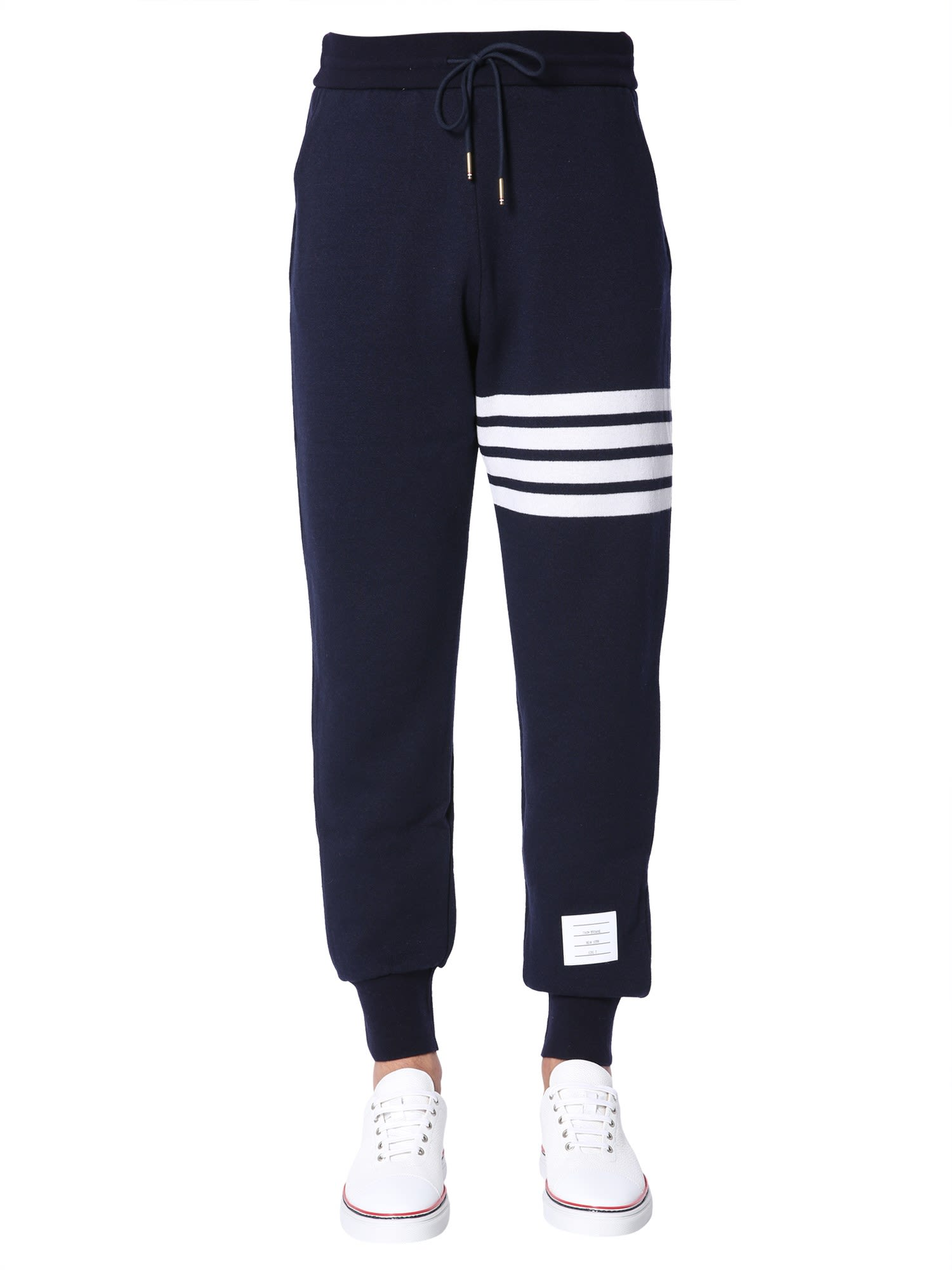 THOM BROWNE CASHMERE JOGGING TROUSERS