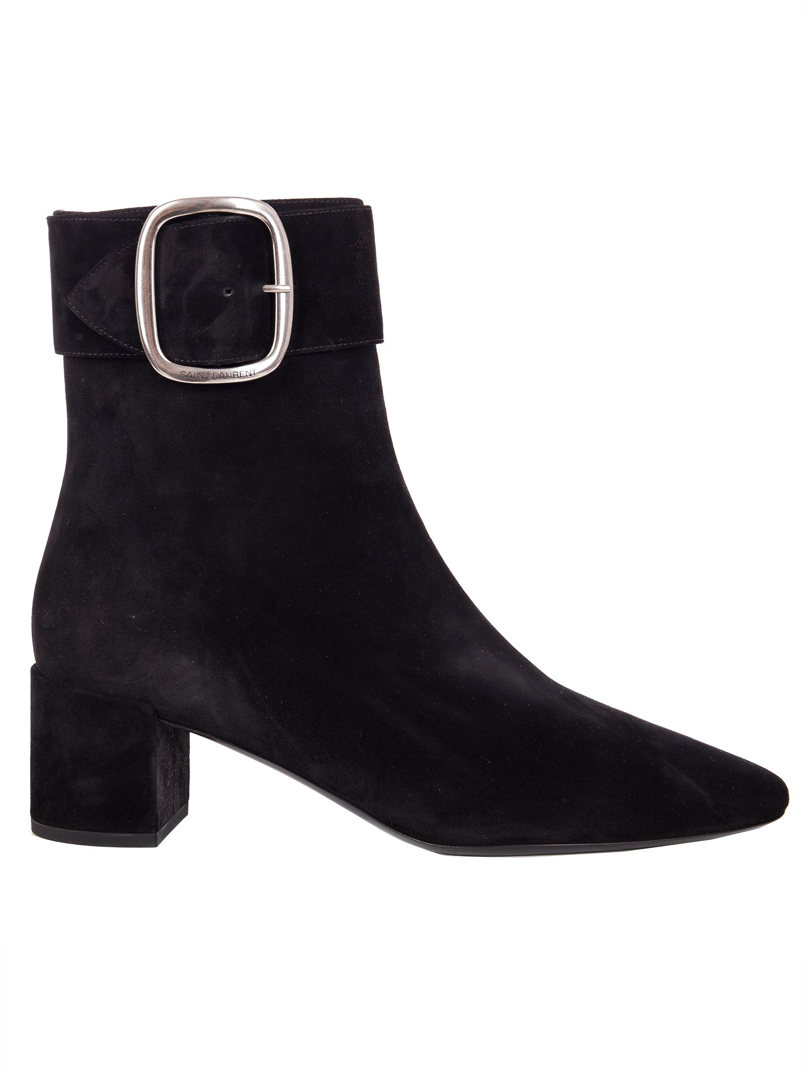 Saint Laurent Joplin Buckle Bootie