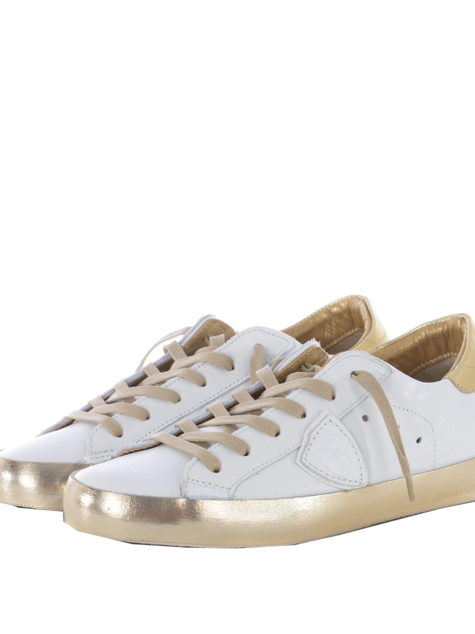 Philippe Model Metallic Detail Sneakers