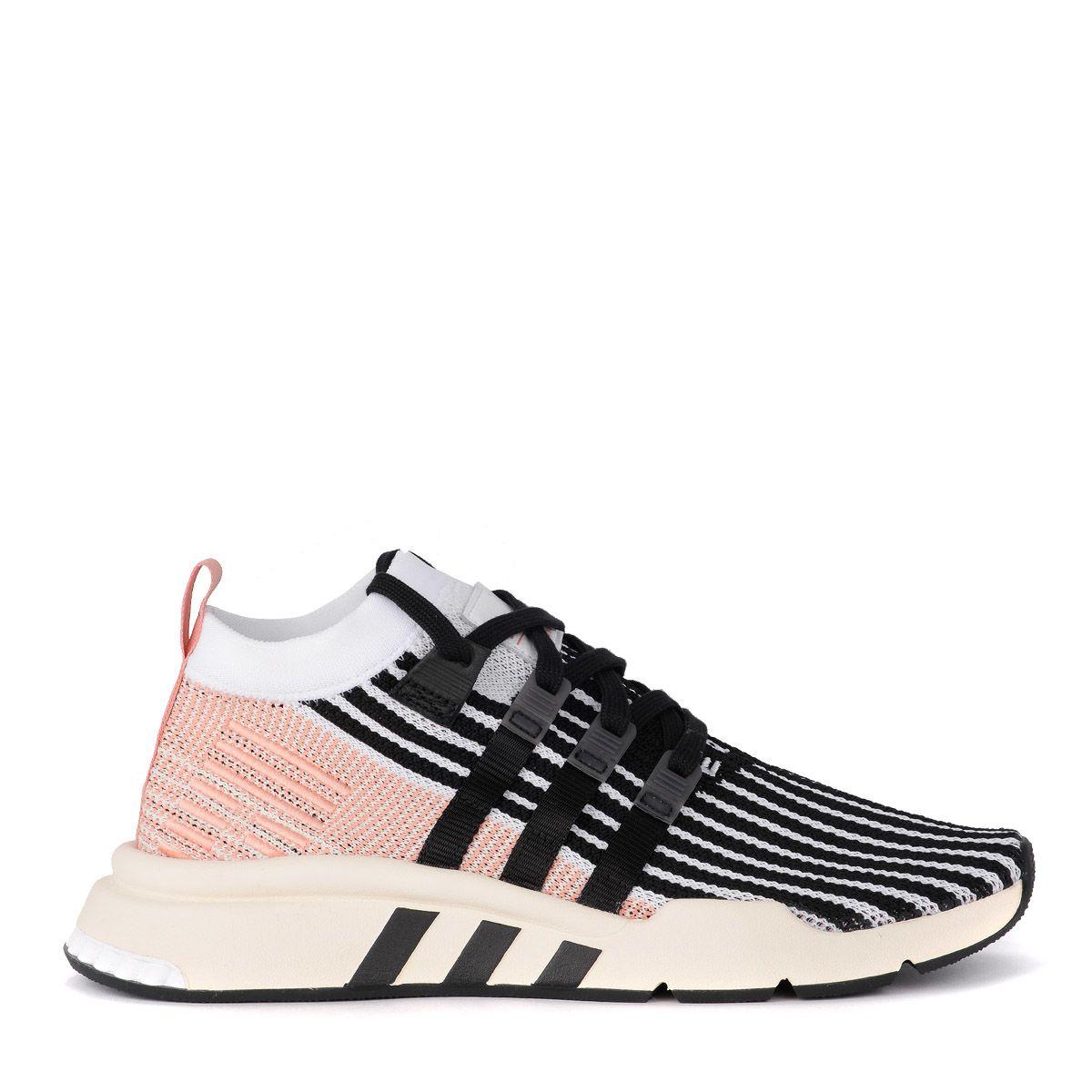Adidas Originals Canvases SNEAKER ADIDAS ORIGINALS EQT SUPPORT NERA E ROSA