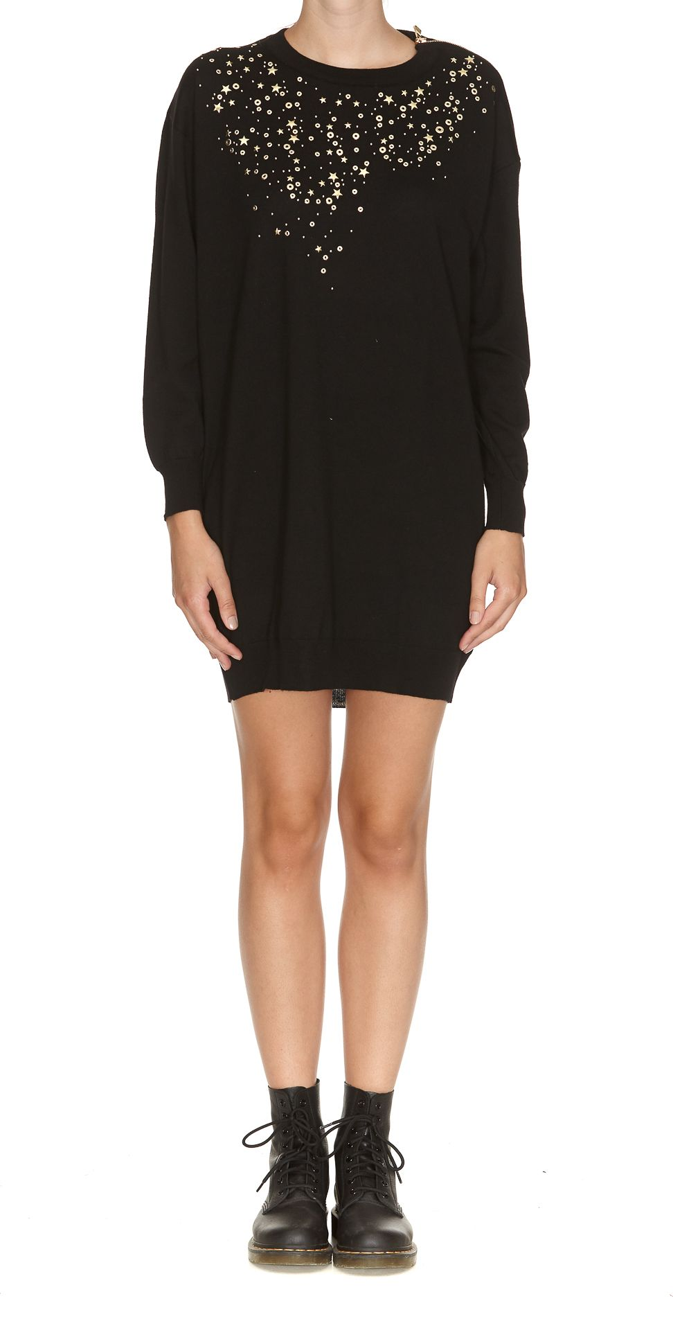 Boutique Moschino Zip Detail Dress