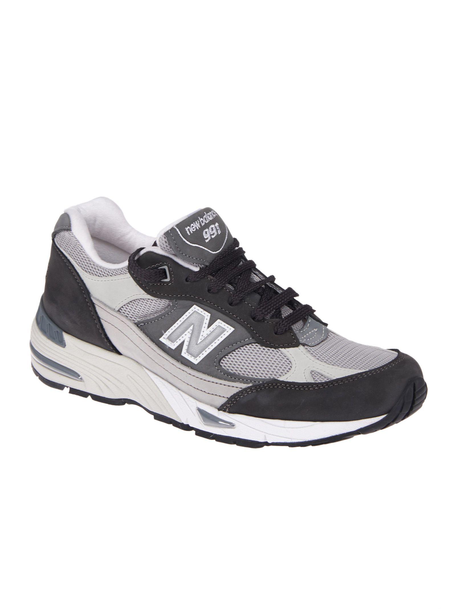 New Balance - New Balance Gartner Sports Sneakers - Grey white ...