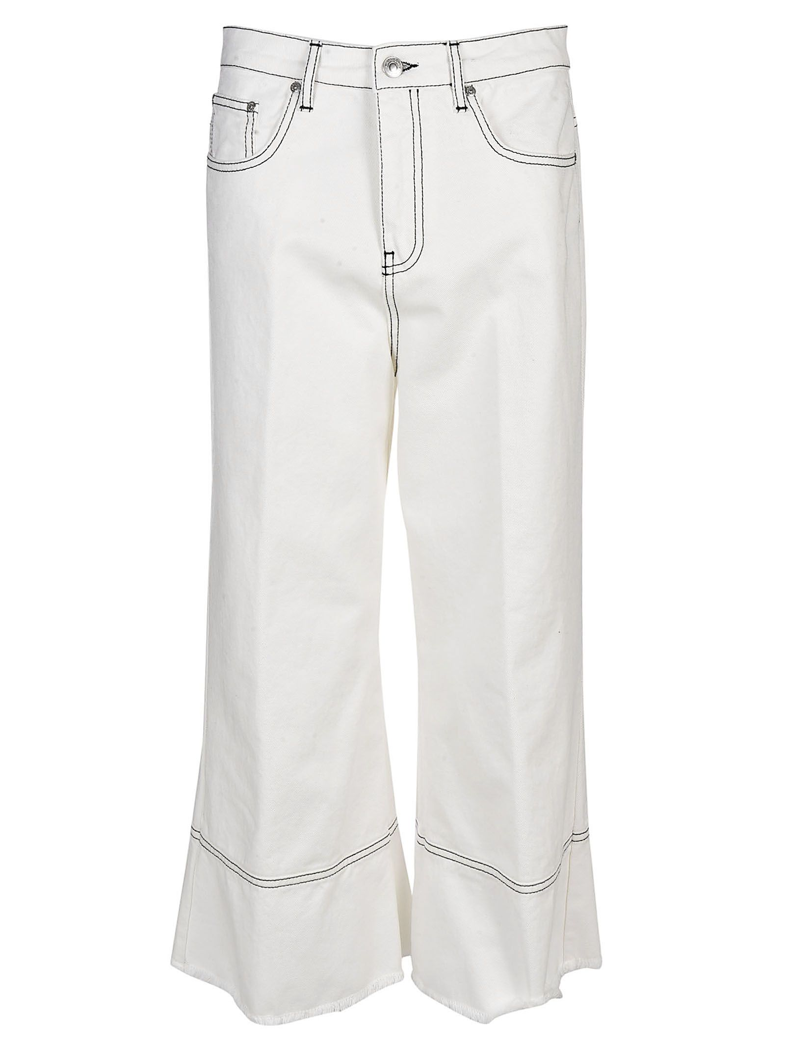 msgm -  Sacai Wide Leg Jeans