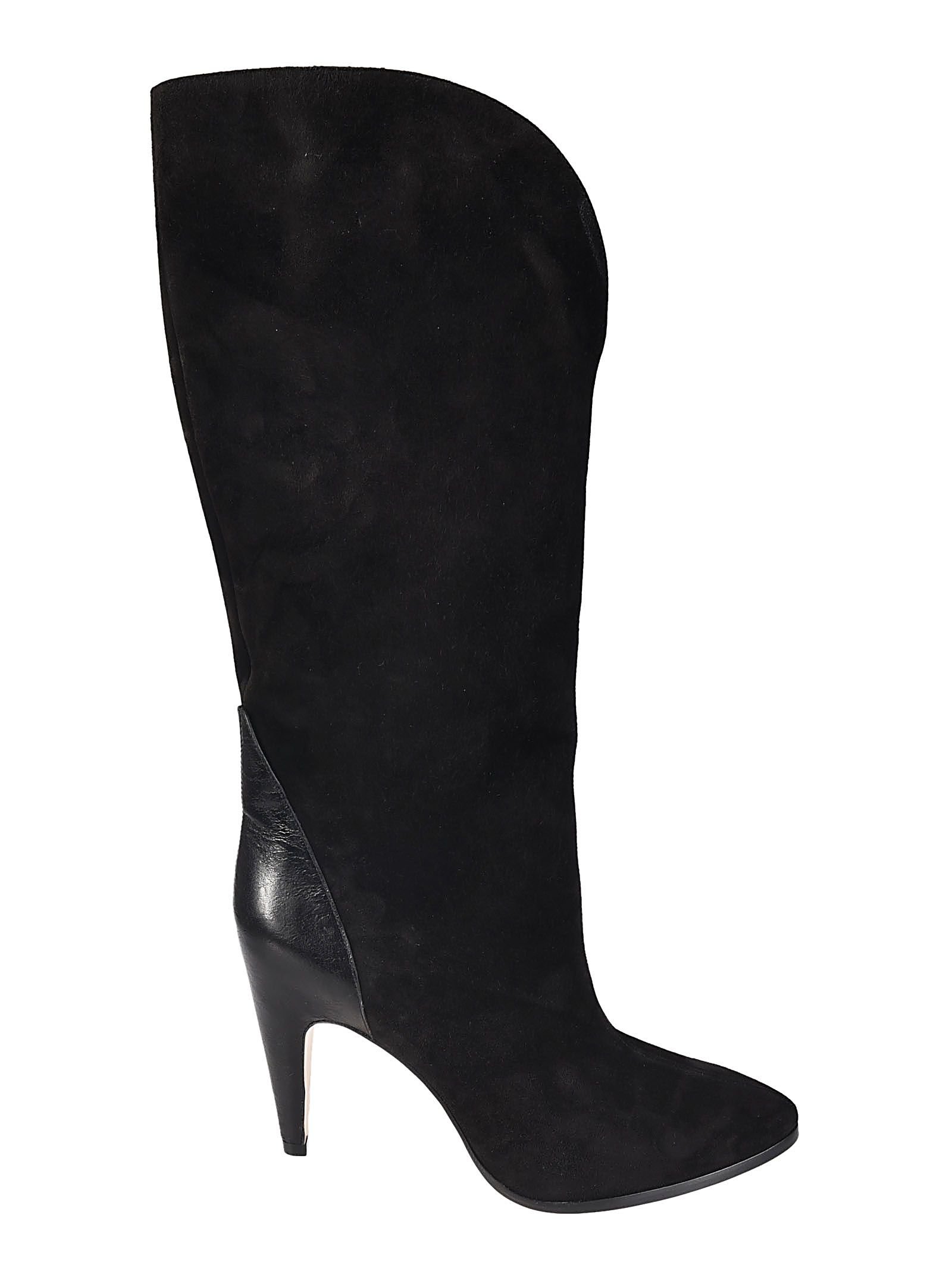 Womens Suede & Stamped Leather Knee Boots Givenchy Clearance Footlocker Finishline Discount Footlocker Finishline Clearance Best Store To Get Get Authentic Cheap Online Cheap Pre Order 9QAQea