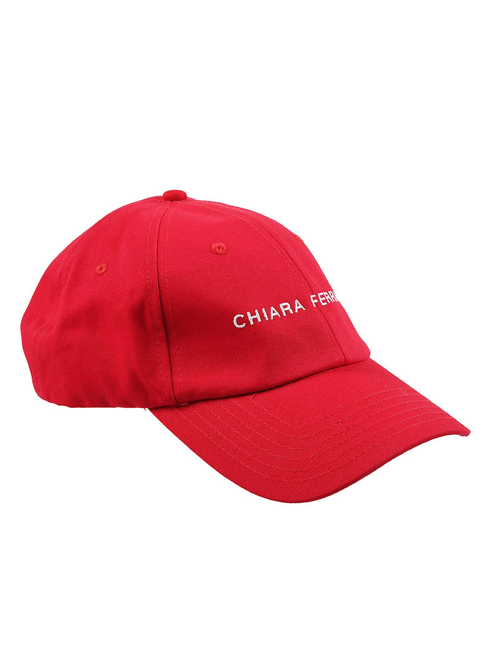 chiara ferragni -  Embroidered Logo Cap