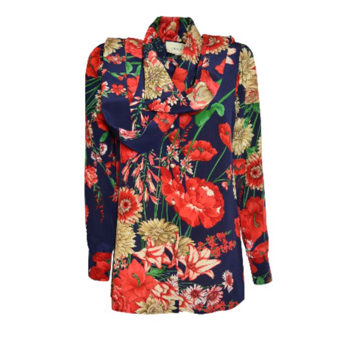 GUCCI SPRING BOUQUET SHIRT