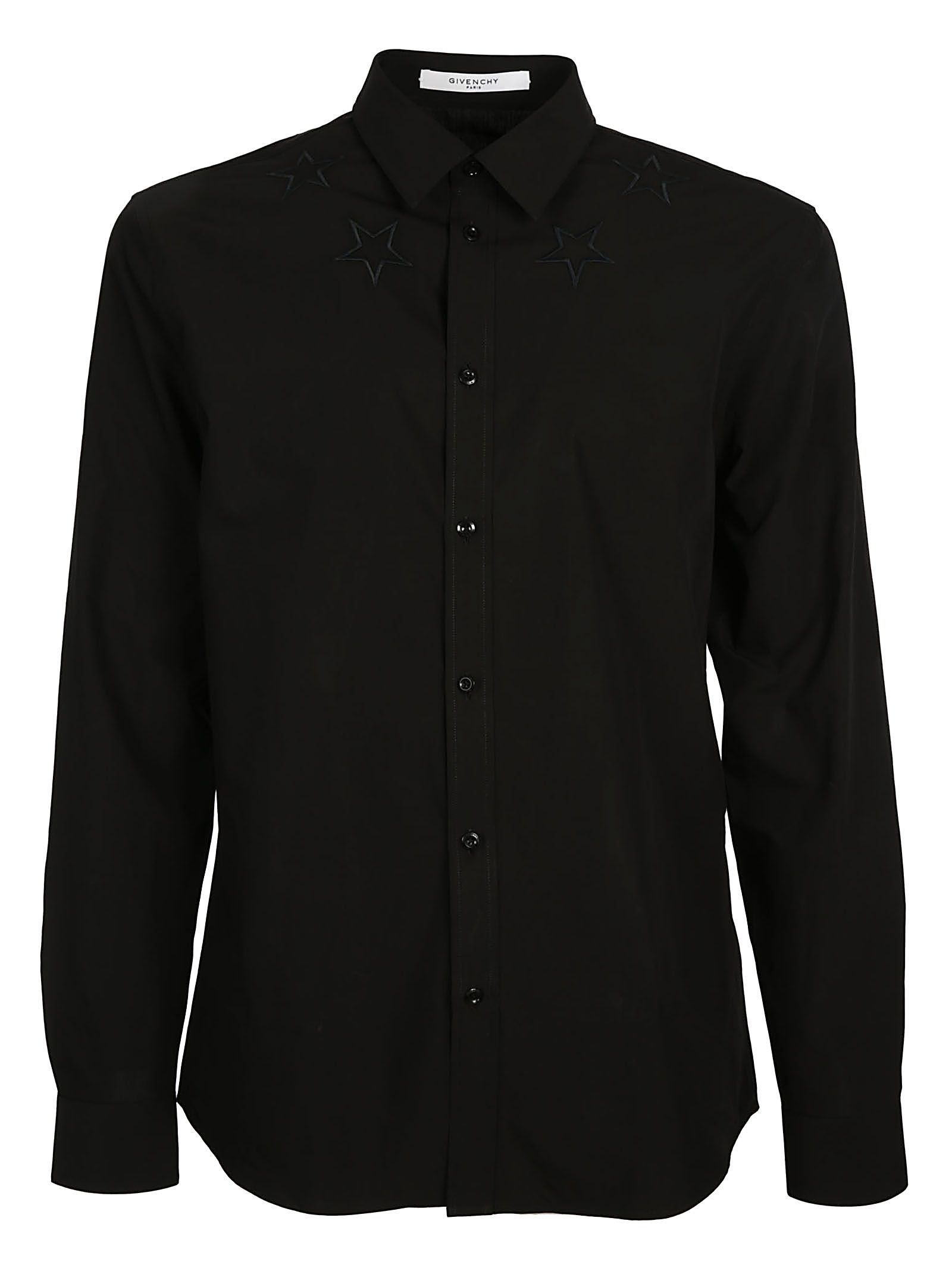 Givenchy Star Embroidered Shirt ...