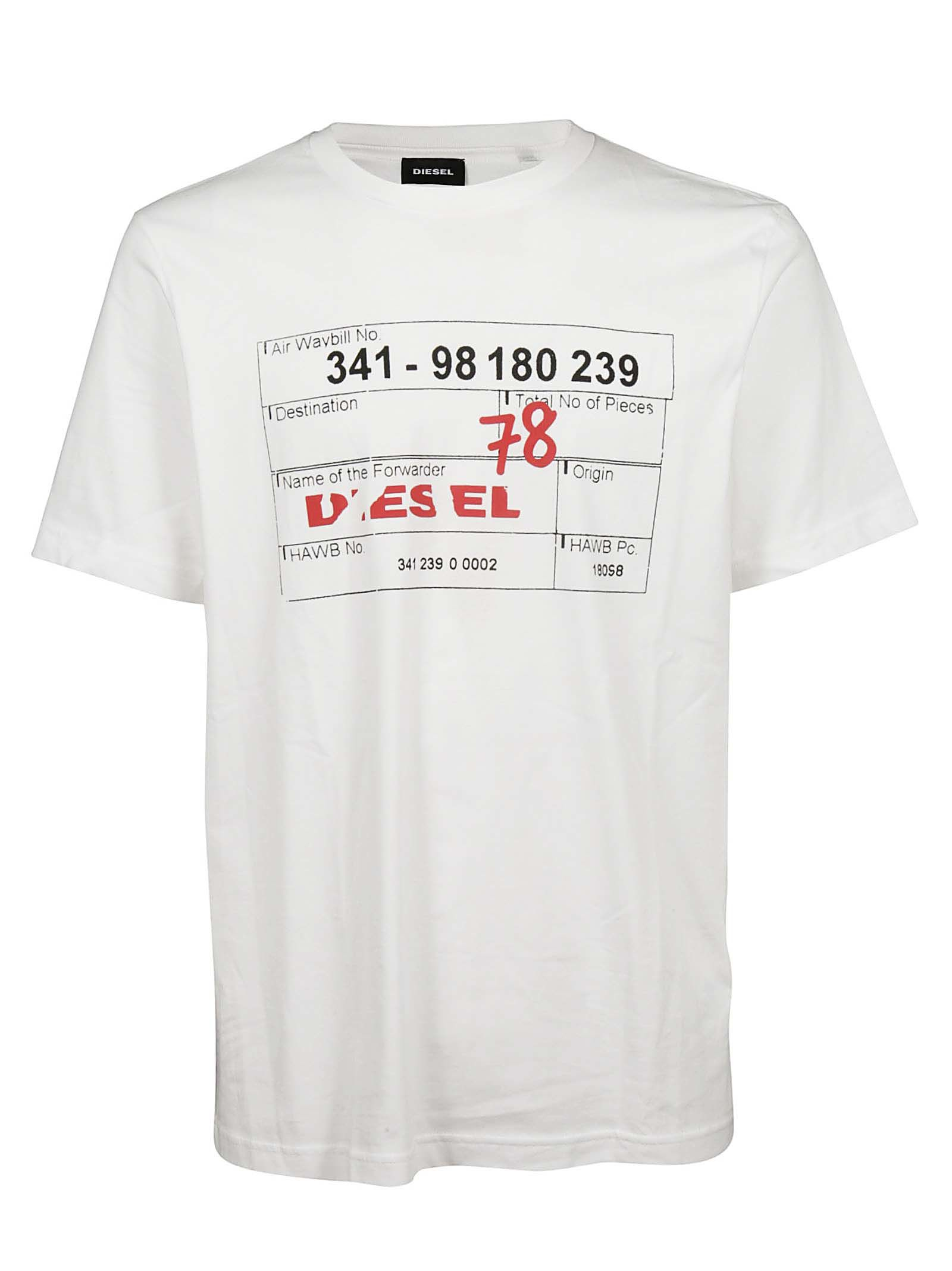 DIESEL T-JUST-W2 T-SHIRT