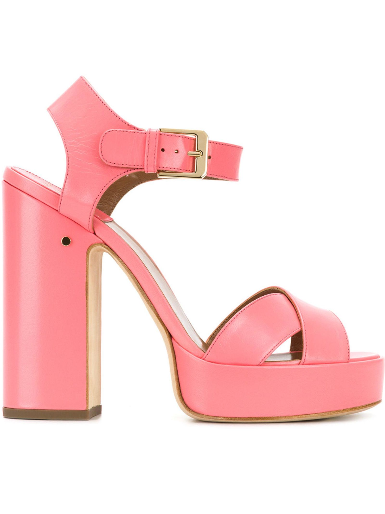 Rosan sandals - Pink & Purple Laurence Dacade
