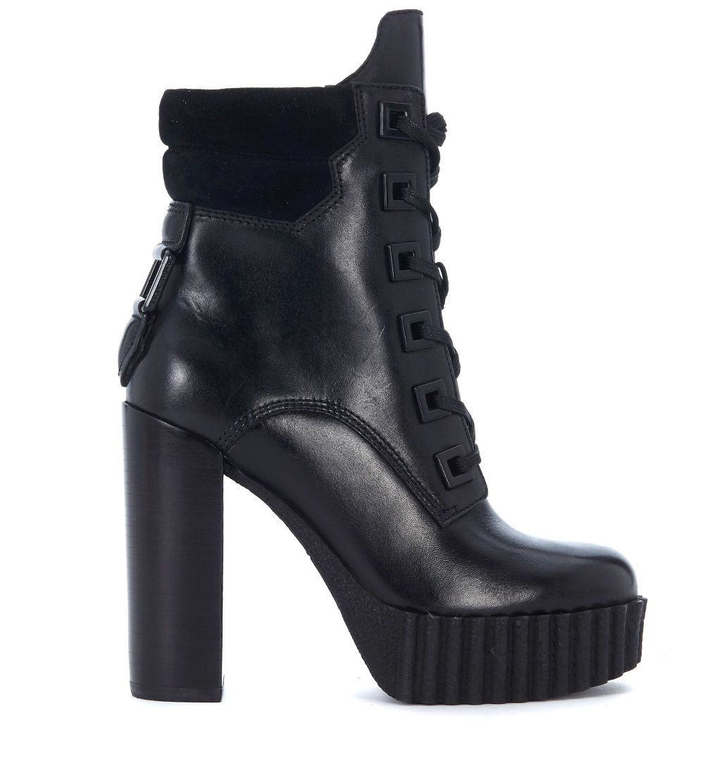 Clearance Huge Surprise Discount Best Seller KENDALL + KYLIE Kendall+Kylie Koty leather and suede ankle boots women's Low Ankle Boots in Cheap Price Fake Clearance Shop Free Shipping Manchester iYHUH9VE2o