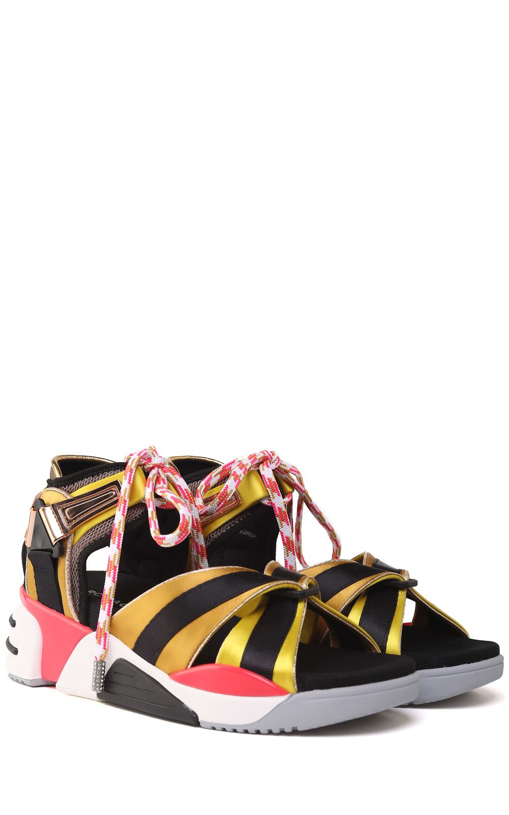 Somewhere Sport mesh and satin sandals Marc Jacobs 1VgUk