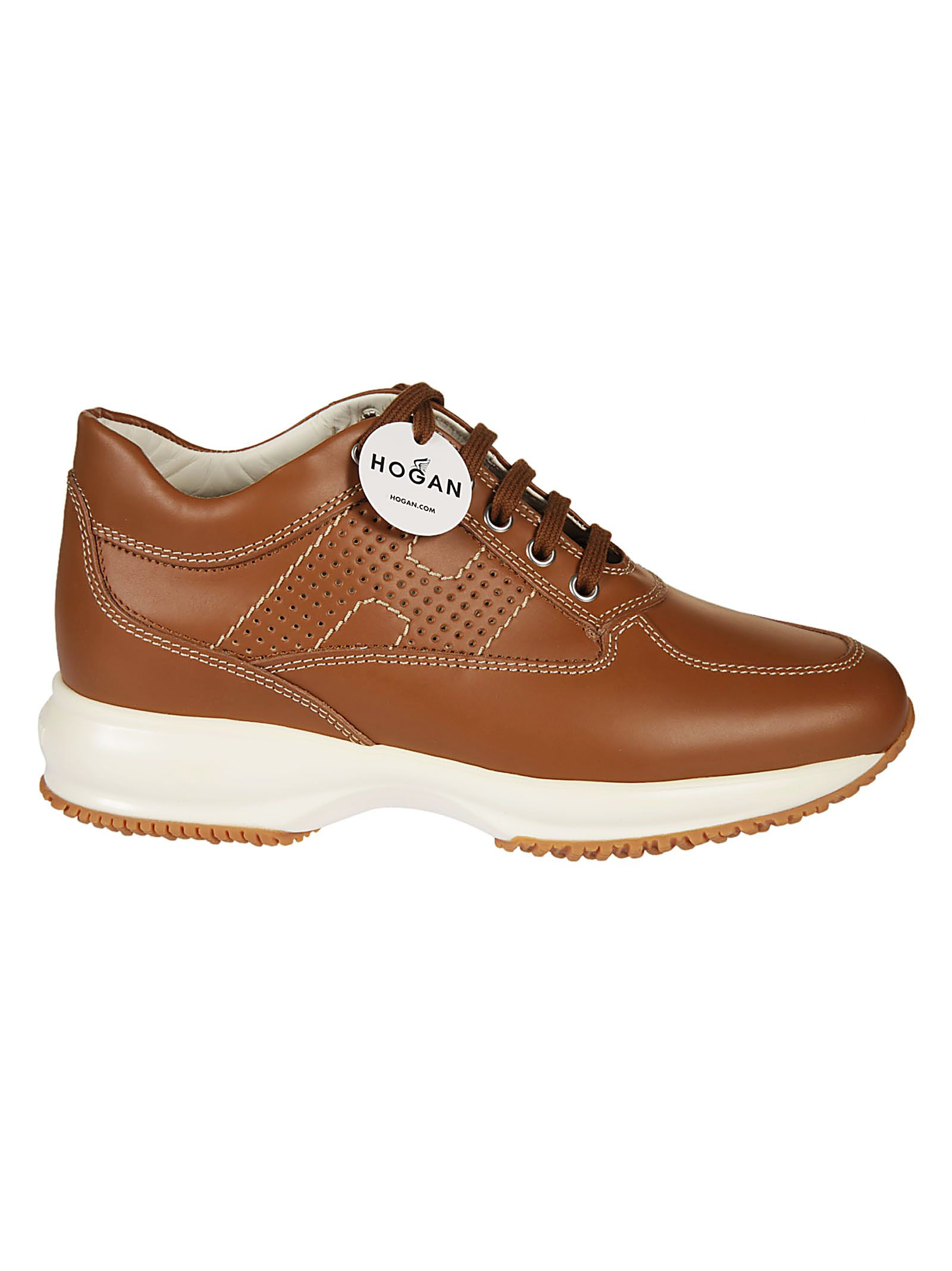 Hogan Sneakers 'interactifs' - Marron DDEeqL26fh