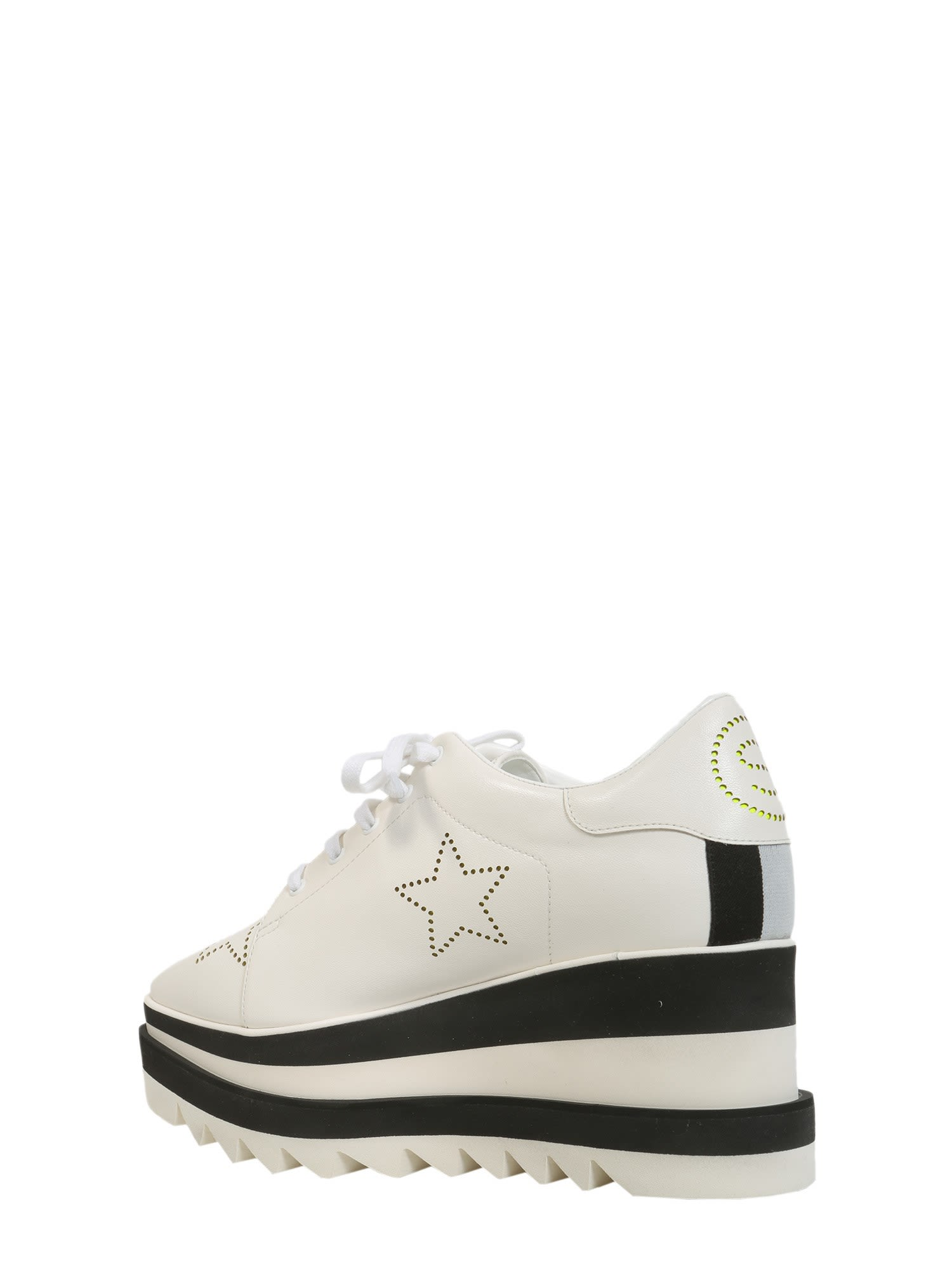 Stella McCartney Sneak-elyse with contrast sole 7pABG