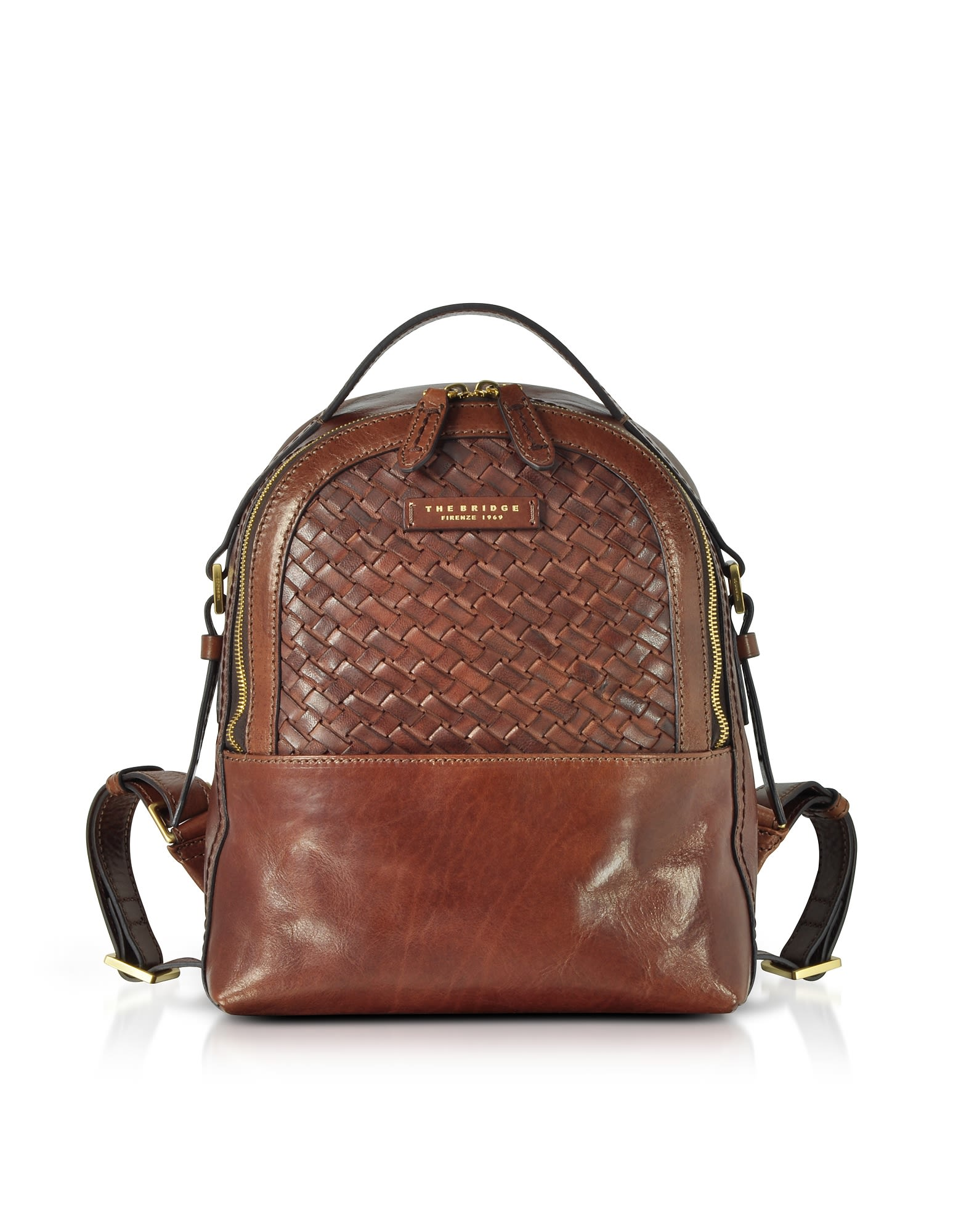 289b41d955 Leather Womens Backpack Brown- Fenix Toulouse Handball