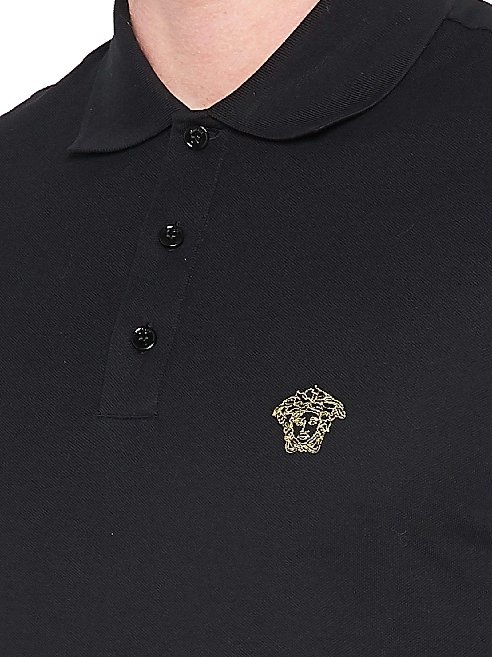 Black Versace Polo
