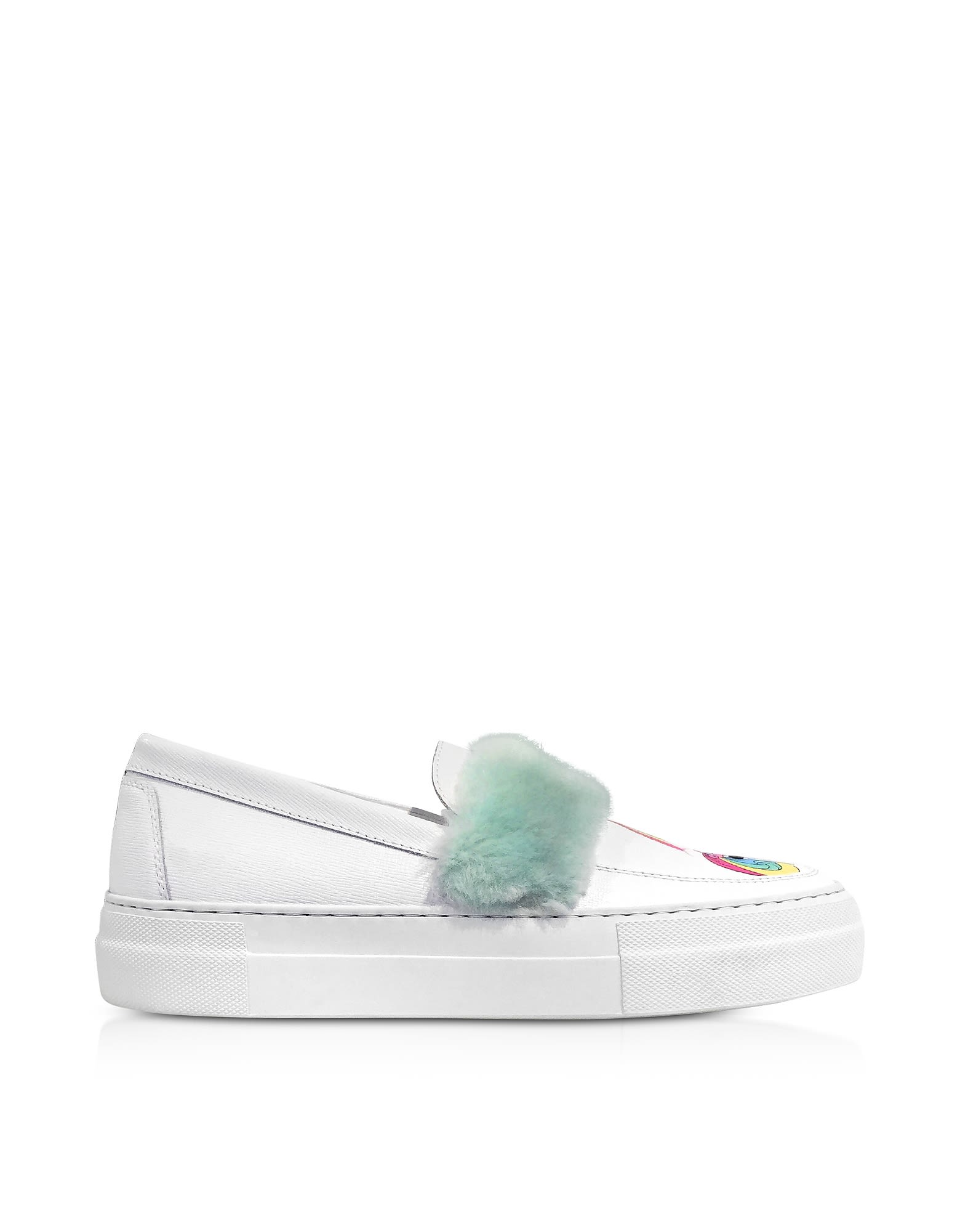 My Little Pony leather sneakers - White Joshua Sanders g5IwZ