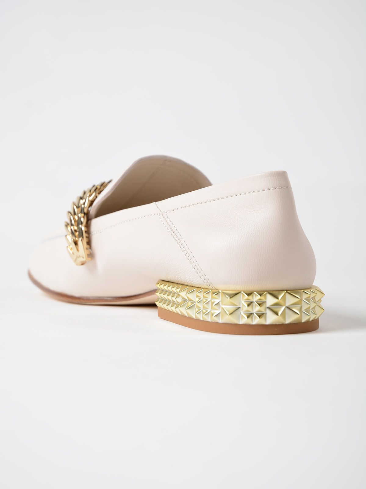 Edgy loafers - Nude & Neutrals Ash
