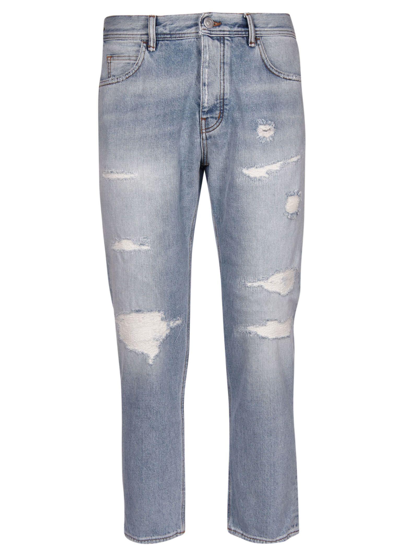 HAIKURE Tokyo Slim Jeans in Blue