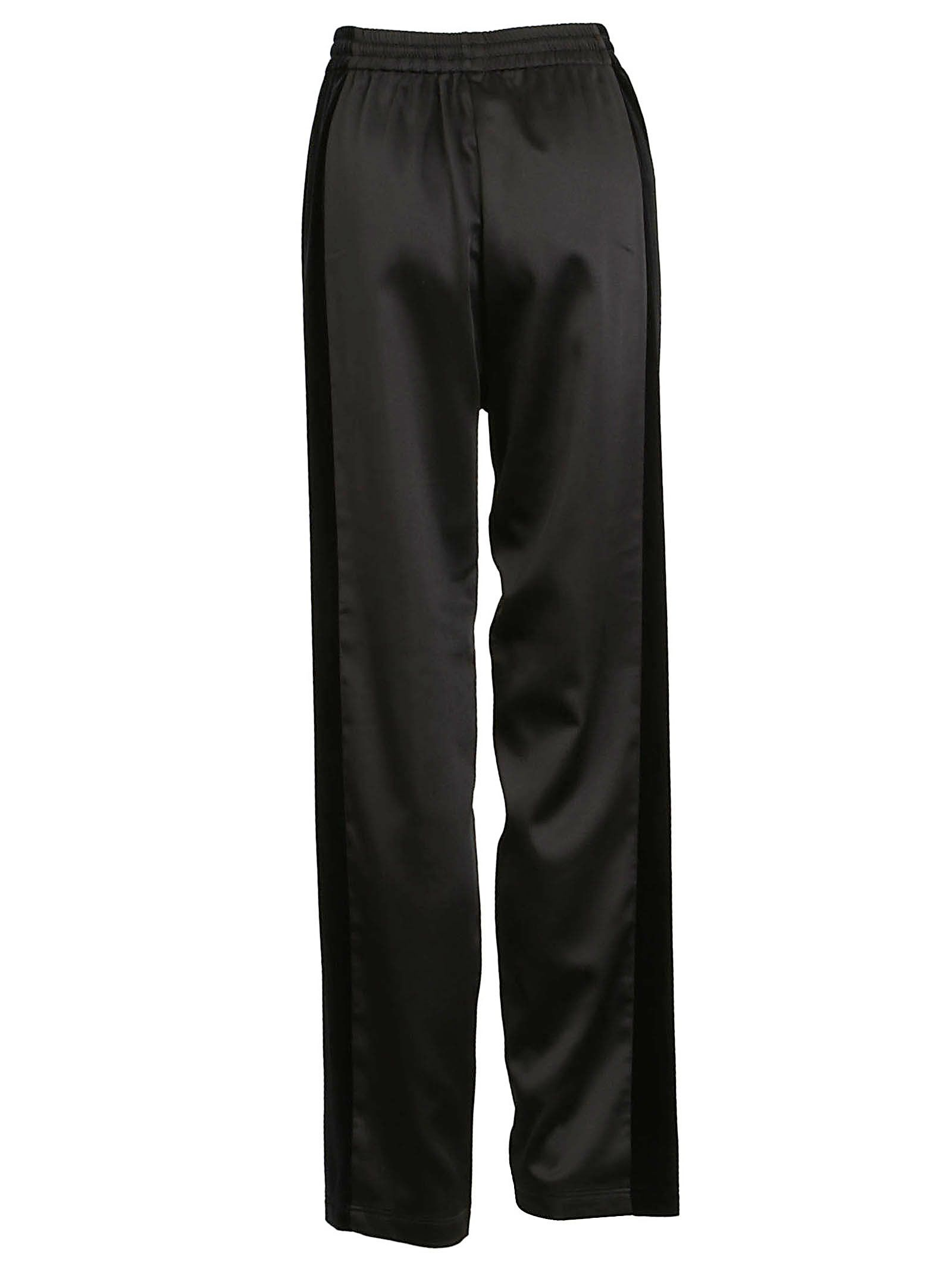 Visa Payment For Sale Outlet Release Dates high-waist track trousers - Black Koché Online Shop RuxbkL3CoG