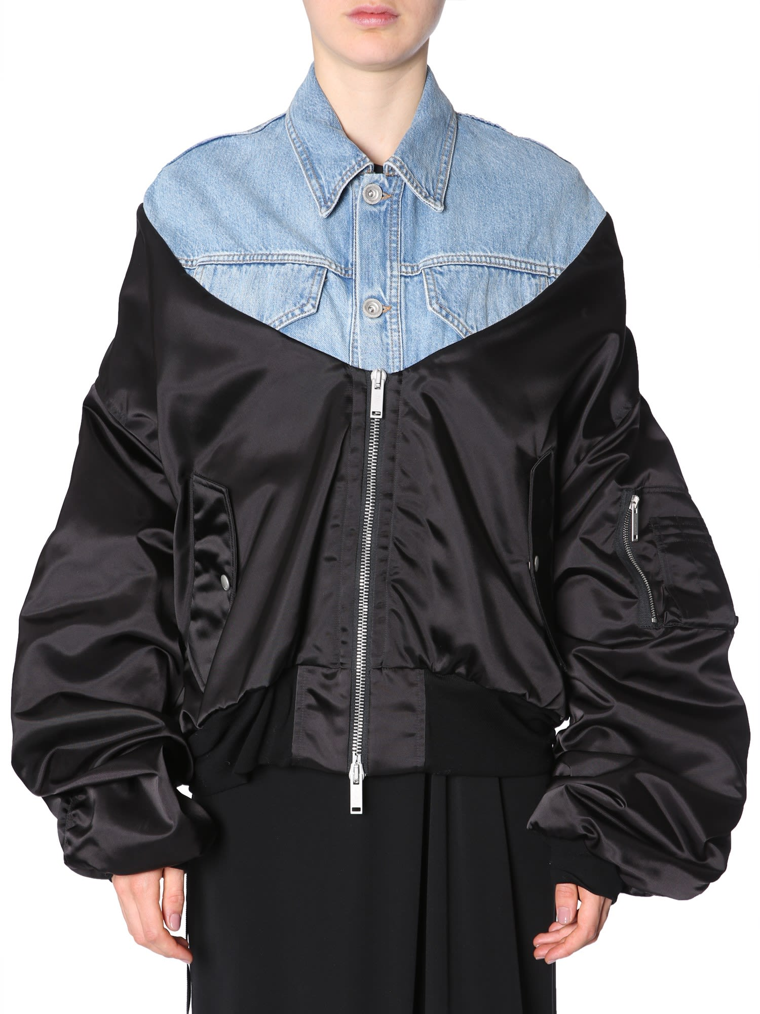 Ben Taverniti Unravel Project OVERSIZE FIT BOMBER