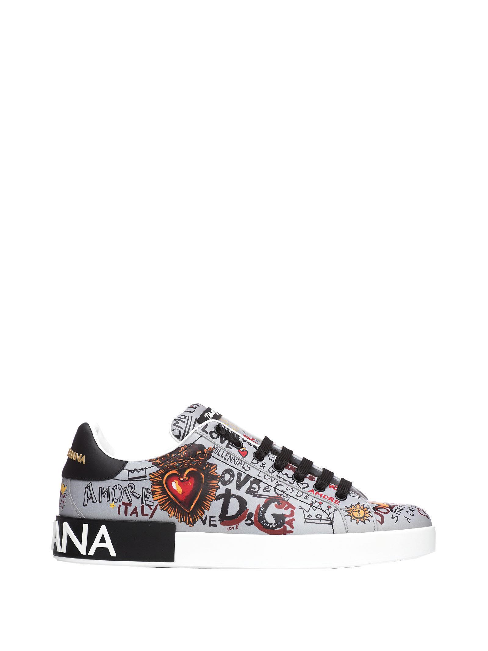 Portofino Grey Sneakers