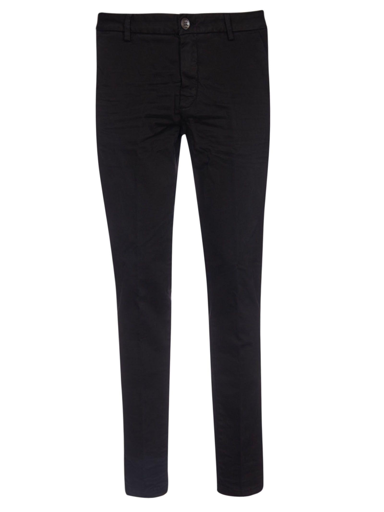 AGLINI Edgard Trousers in Black