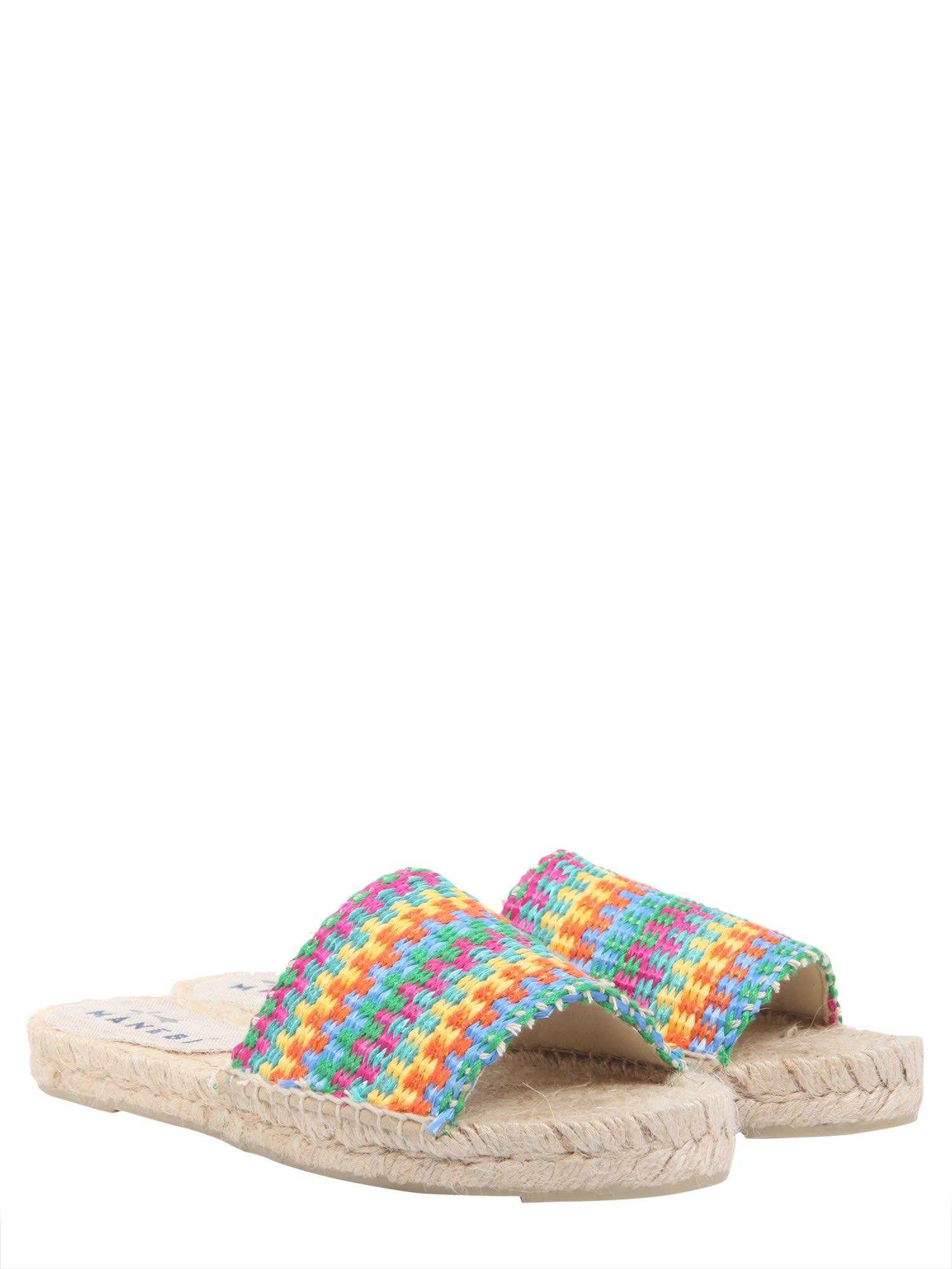MANEBI Yucatan slide sandals pOqaylR