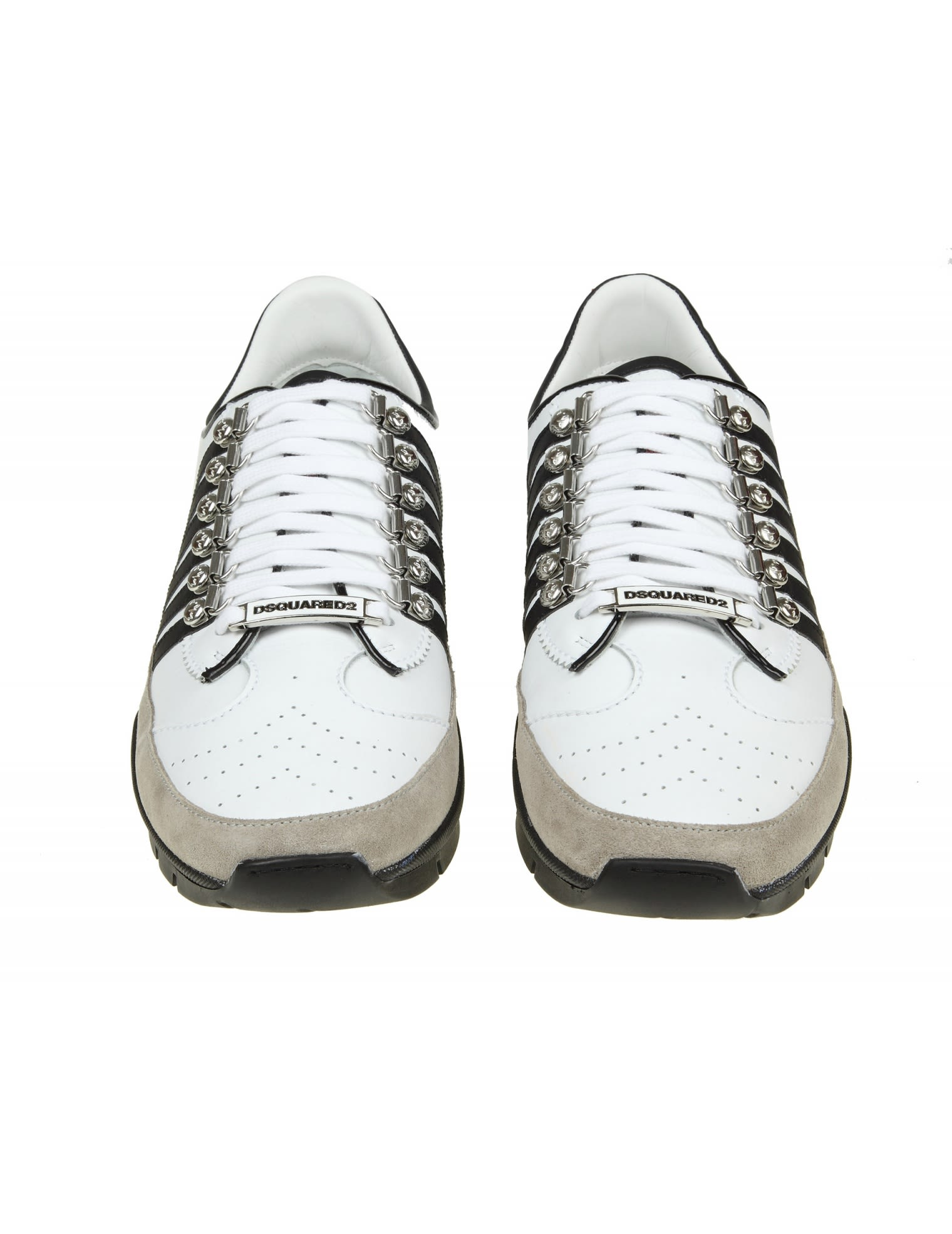 White Lace up 251 sneakers Dsquared2 yz0ArKtrr0